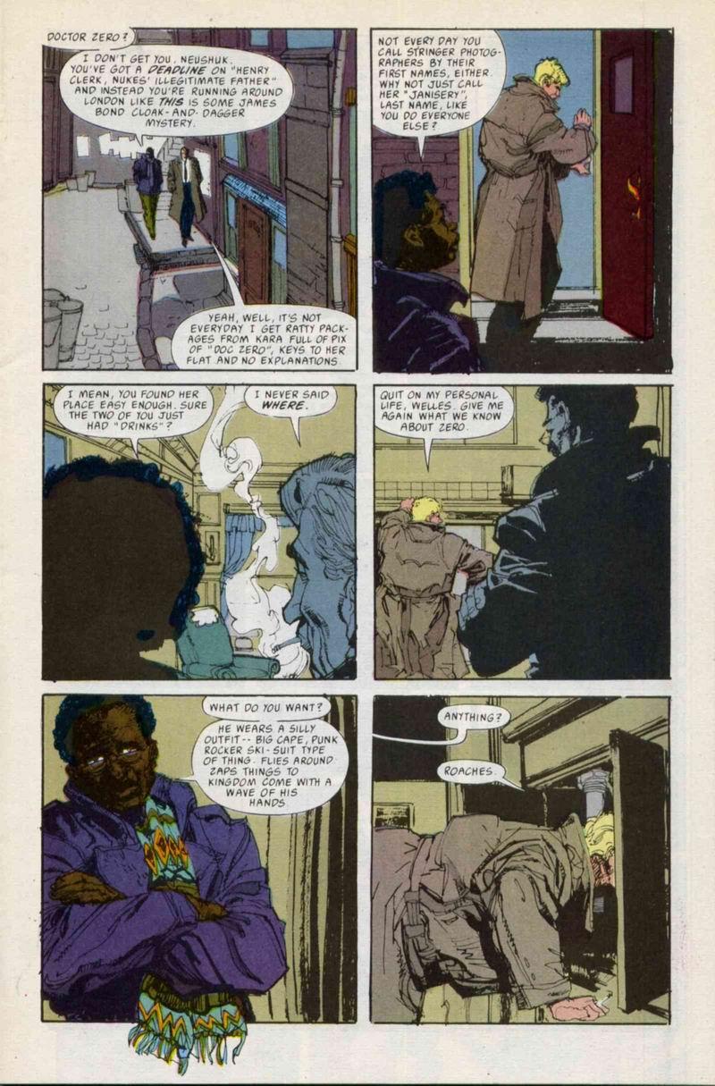 Read online Doctor Zero comic -  Issue #3 - 7