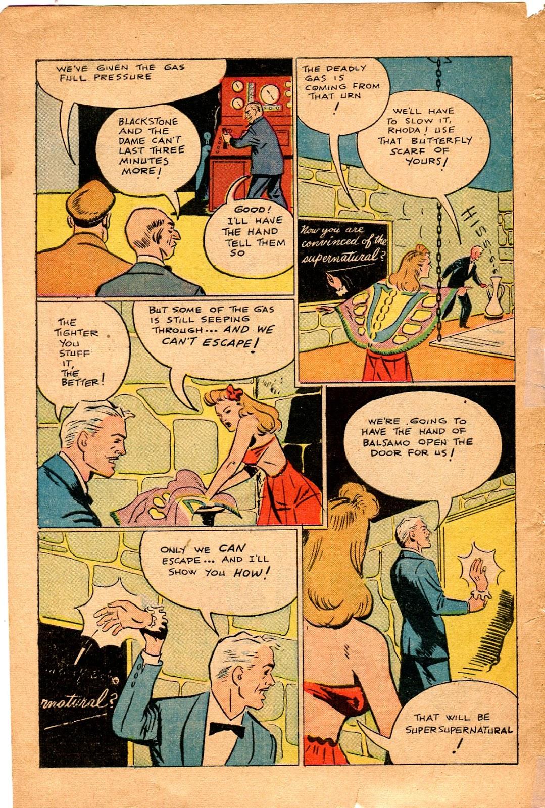 Read online Super-Magician Comics comic -  Issue #34 - 48