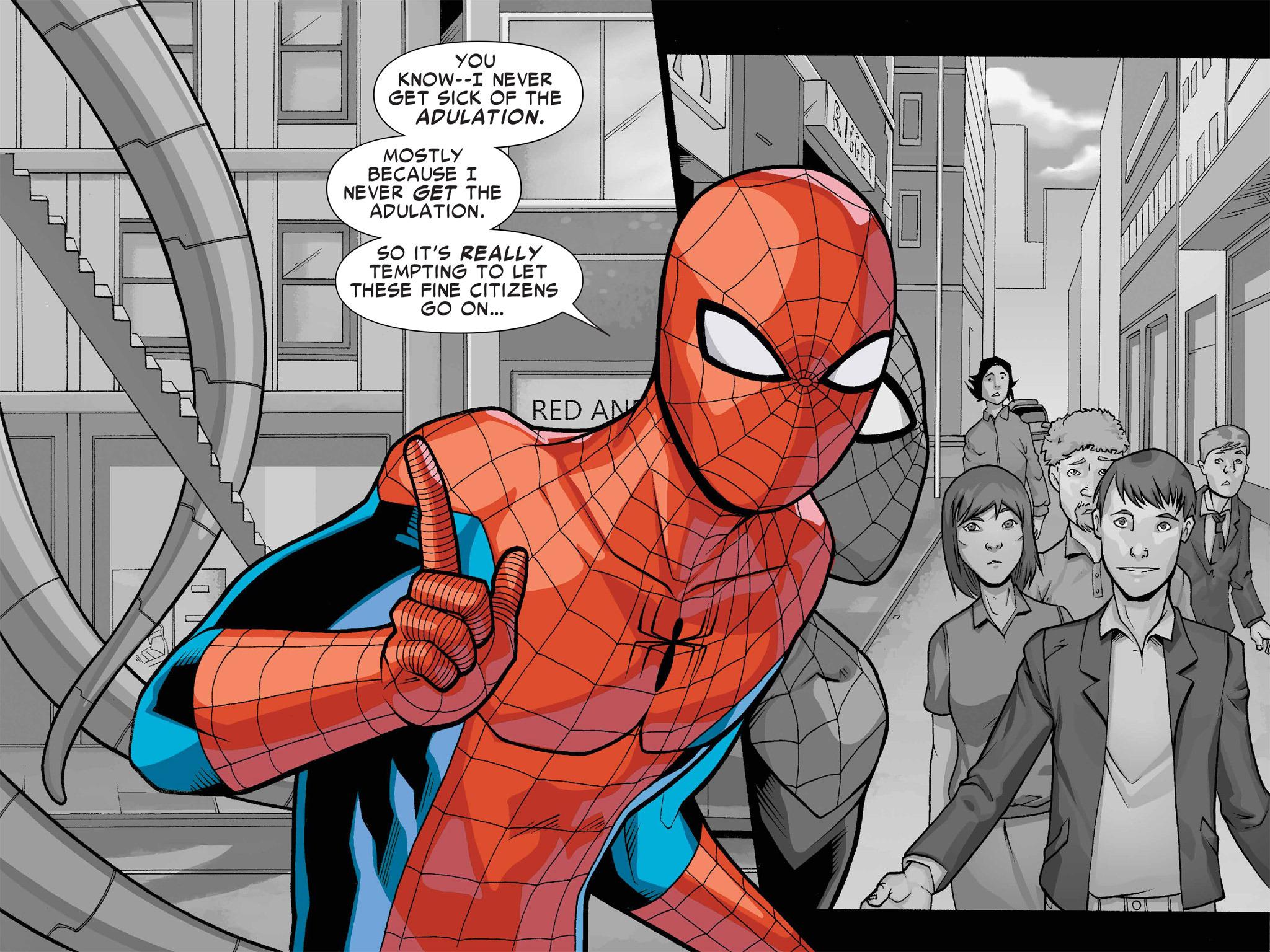 Read online Ultimate Spider-Man (Infinite Comics) (2016) comic -  Issue #1 - 50