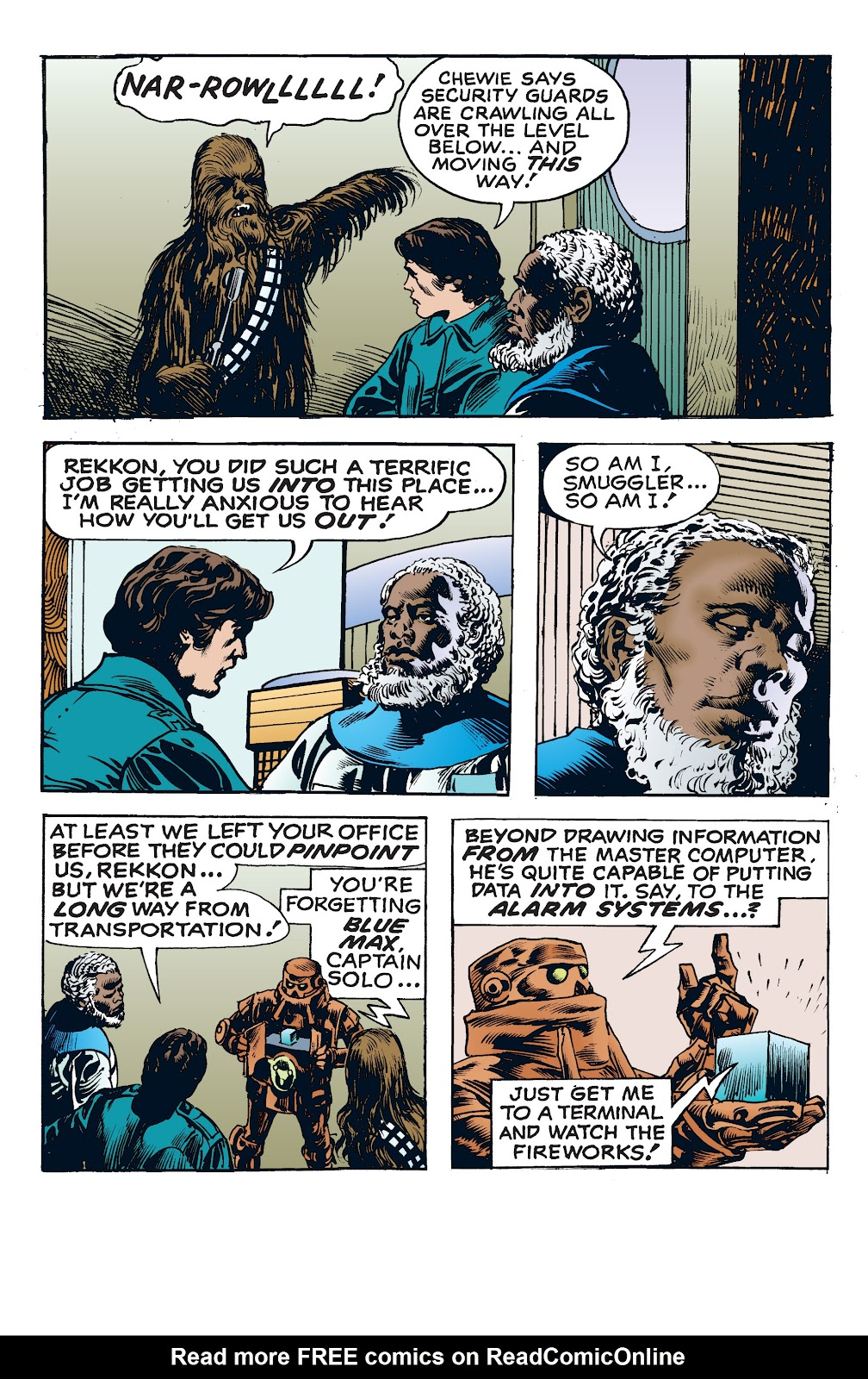 Read online Star Wars Legends: The Newspaper Strips - Epic Collection comic -  Issue # TPB (Part 4) - 30