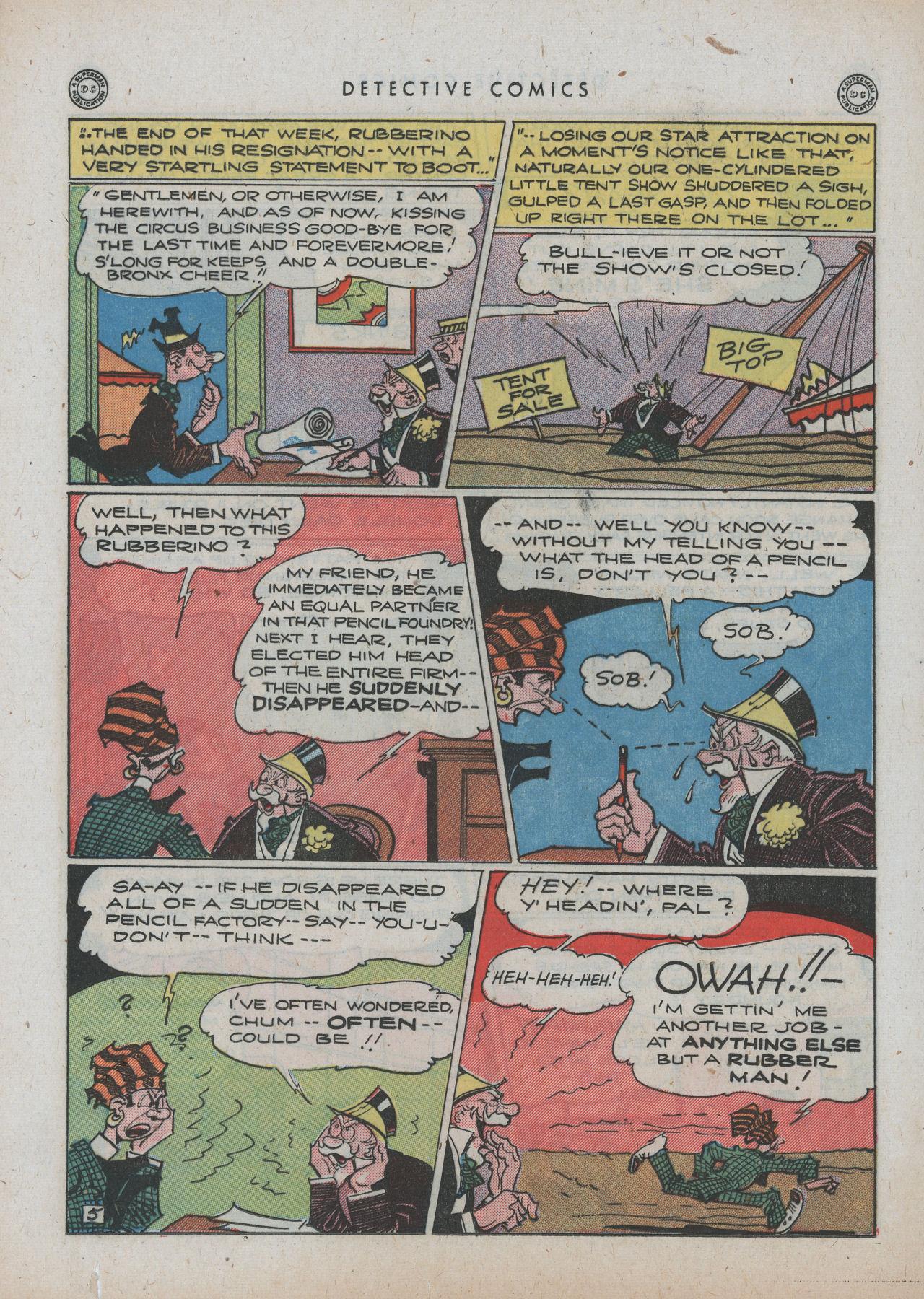 Read online Detective Comics (1937) comic -  Issue #89 - 20