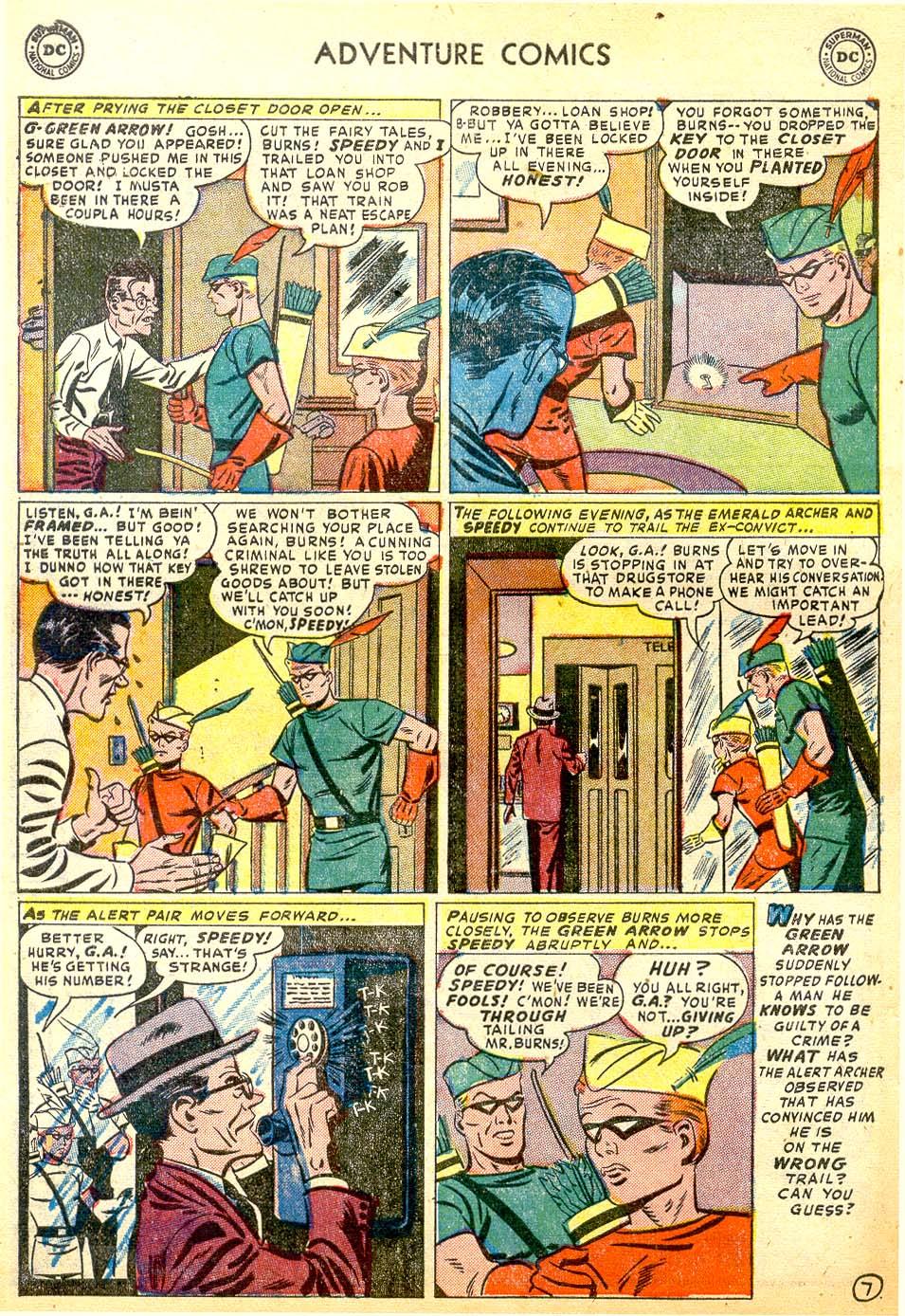 Read online Adventure Comics (1938) comic -  Issue #183 - 40