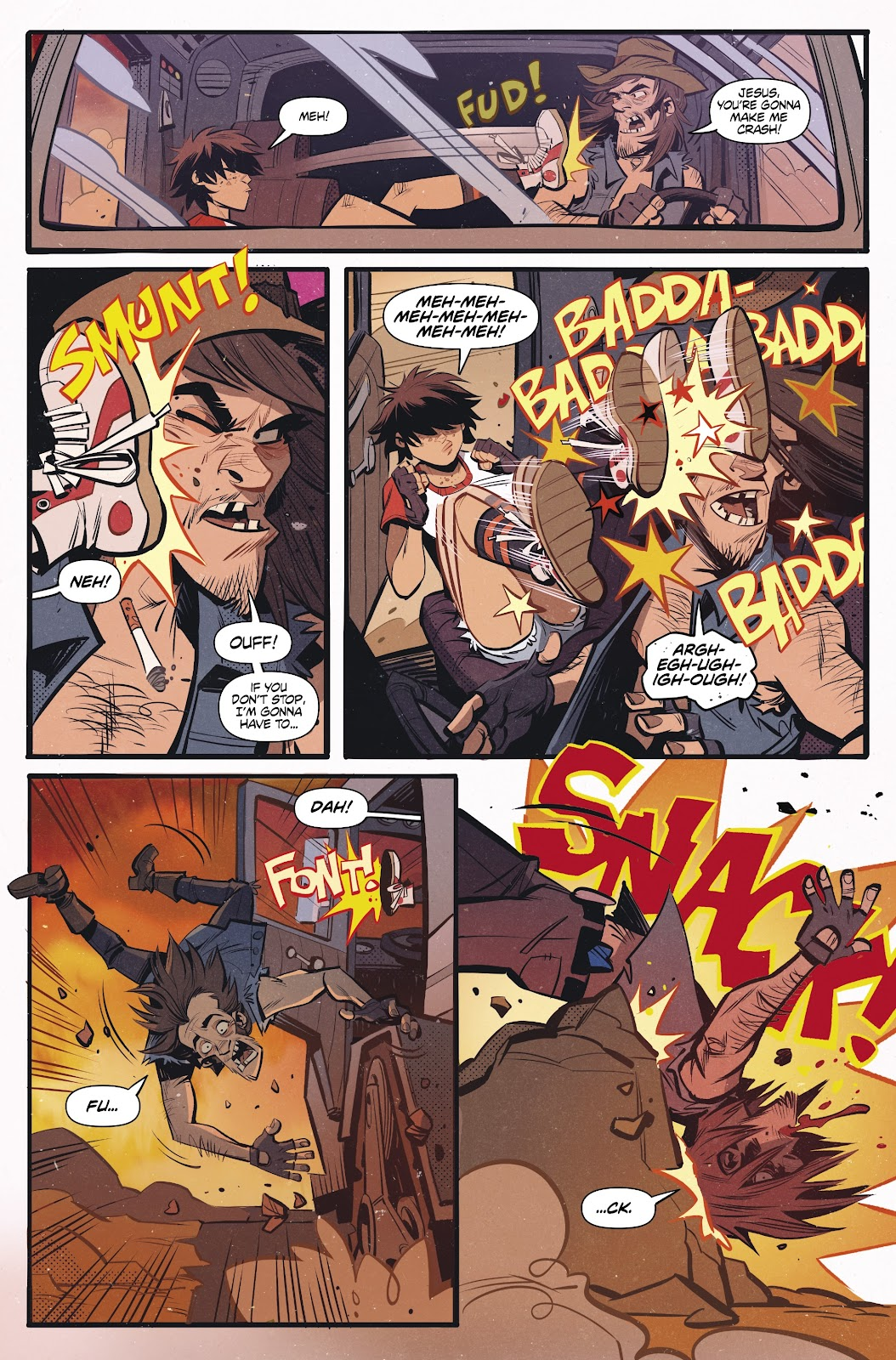 Read online Tank Girl Ongoing comic -  Issue #2 - 8