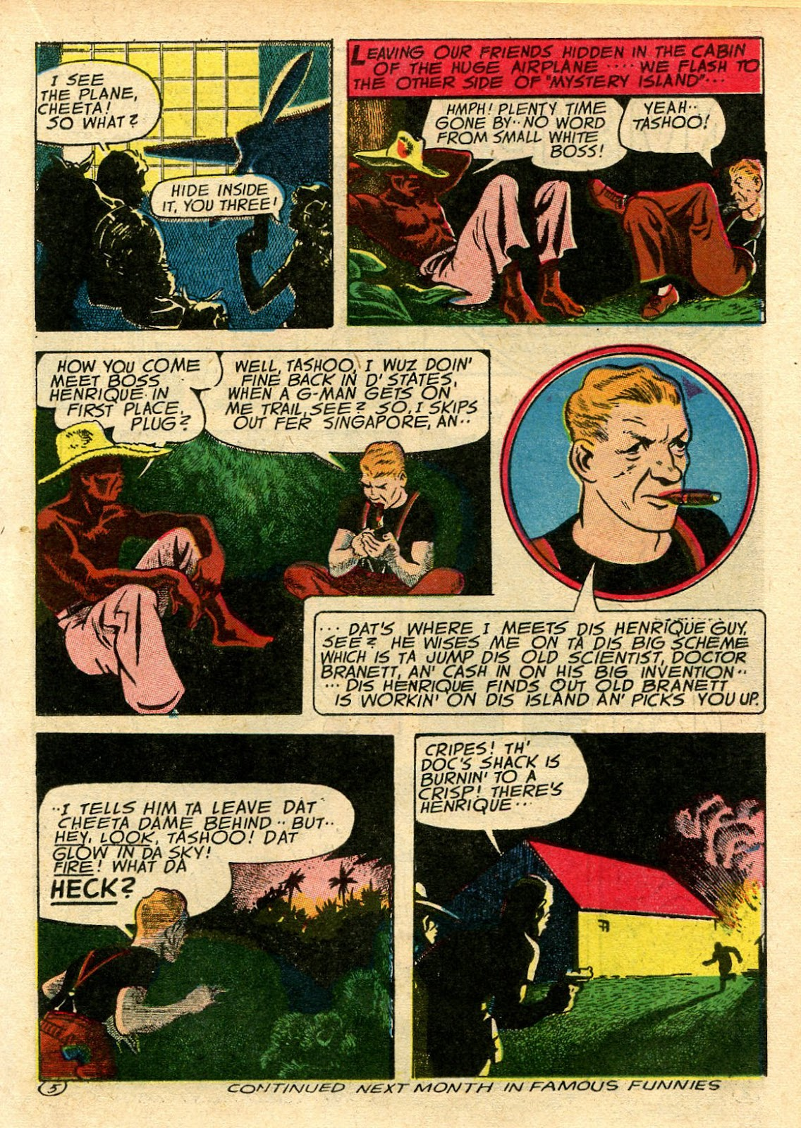 Read online Famous Funnies comic -  Issue #106 - 29