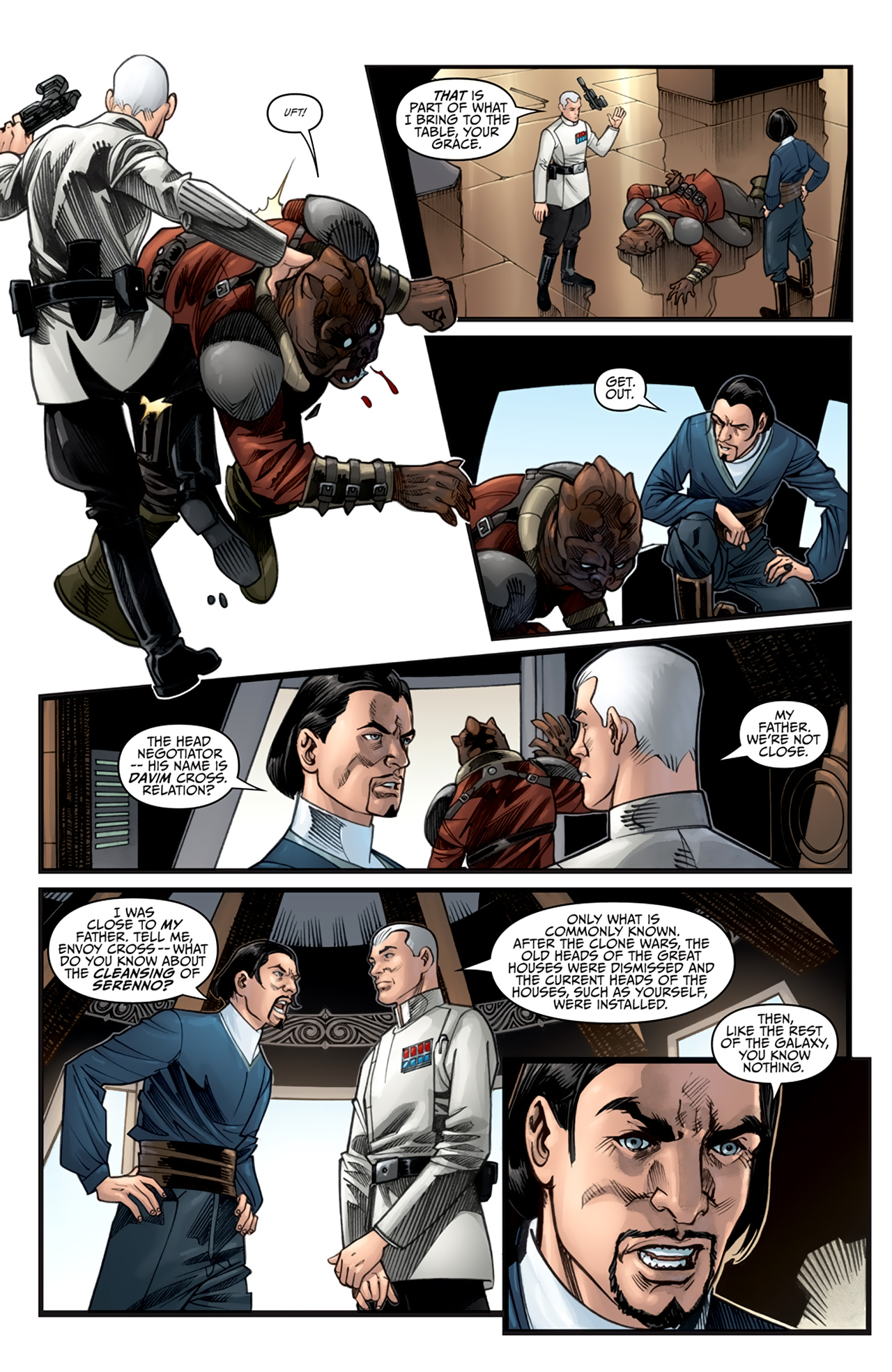 Read online Star Wars: Agent Of The Empire - Hard Targets comic -  Issue #2 - 9