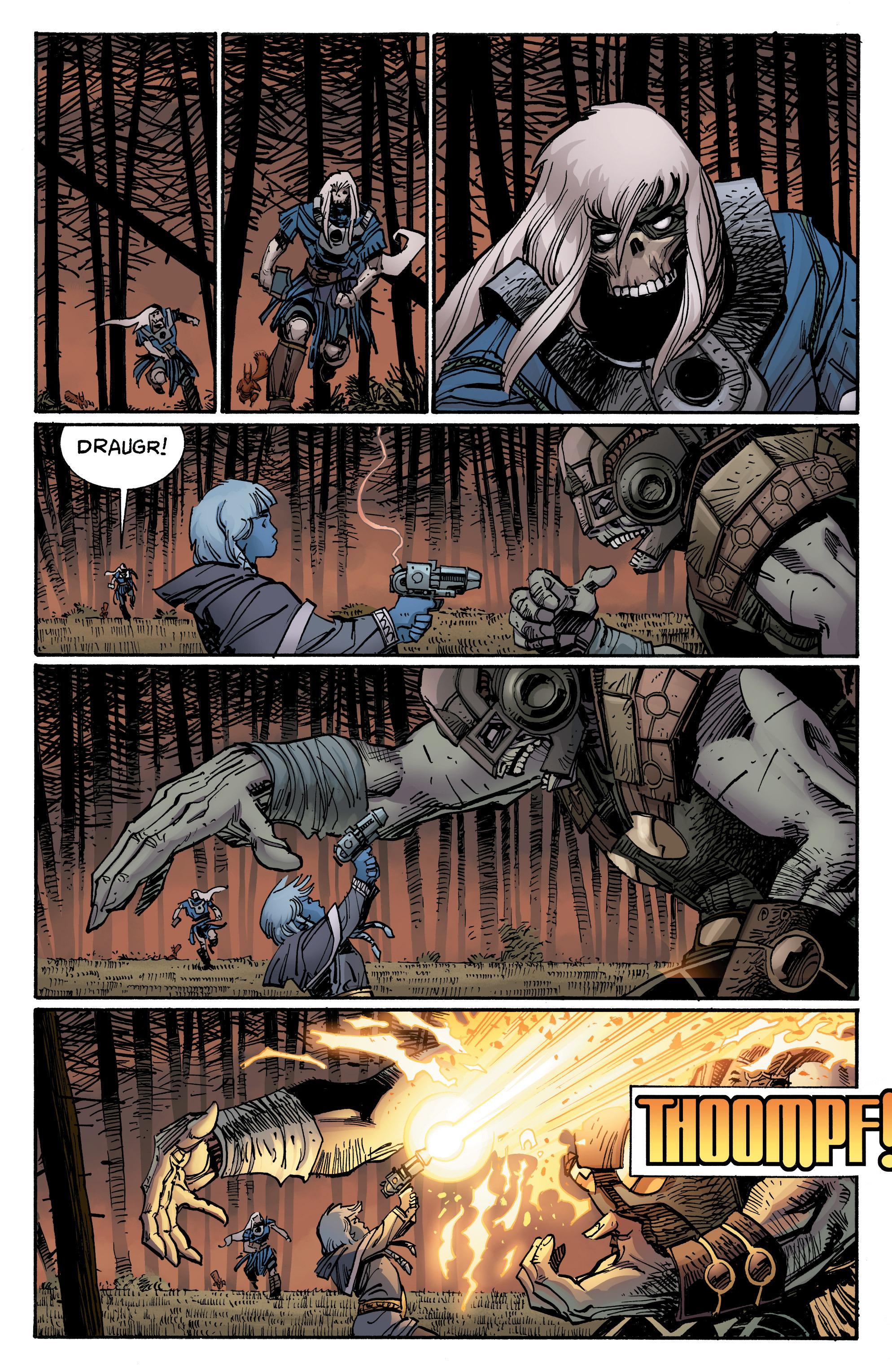 Read online Ragnarok comic -  Issue #12 - 11