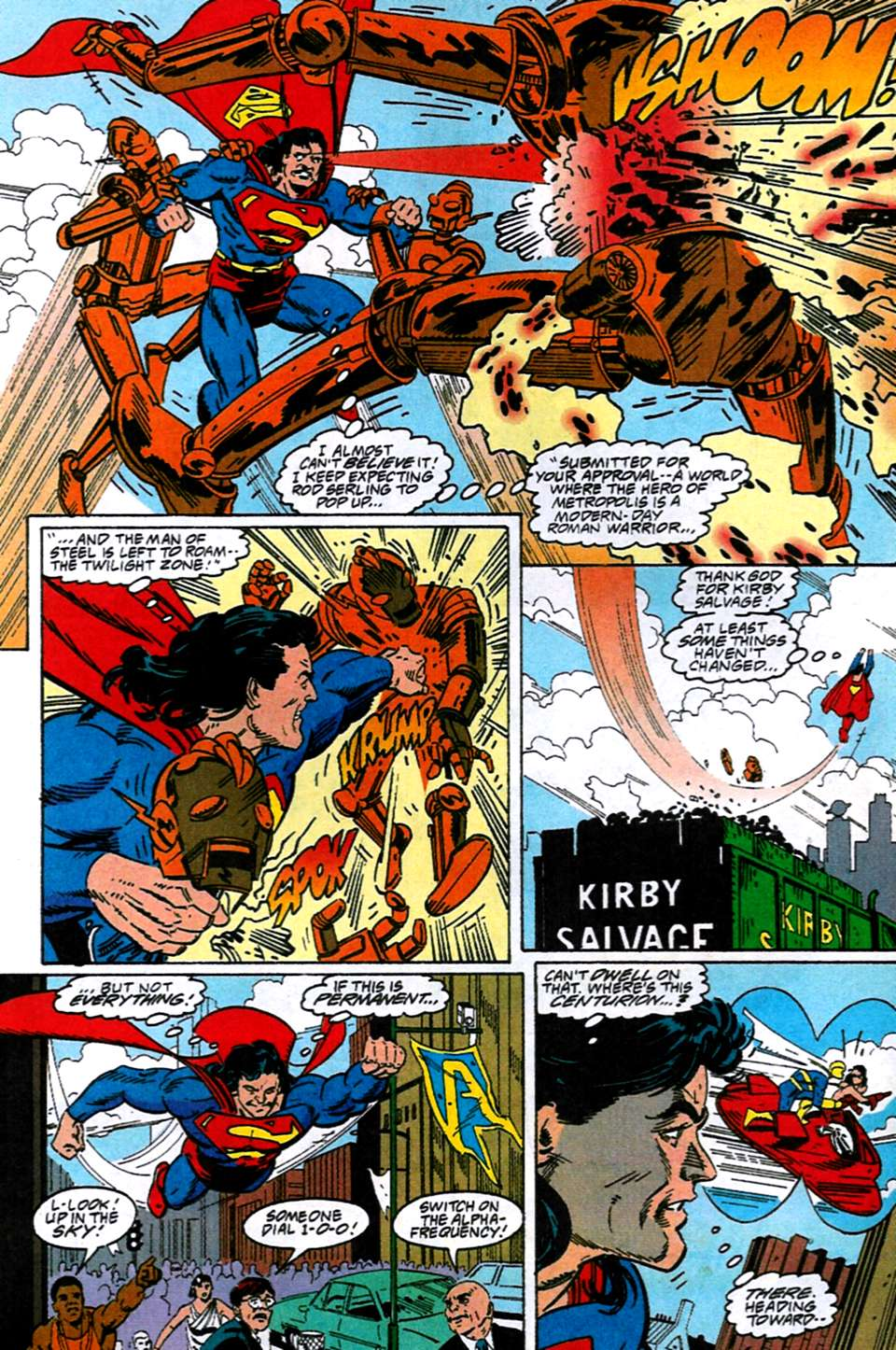 Read online Adventures of Superman (1987) comic -  Issue #516 - 9