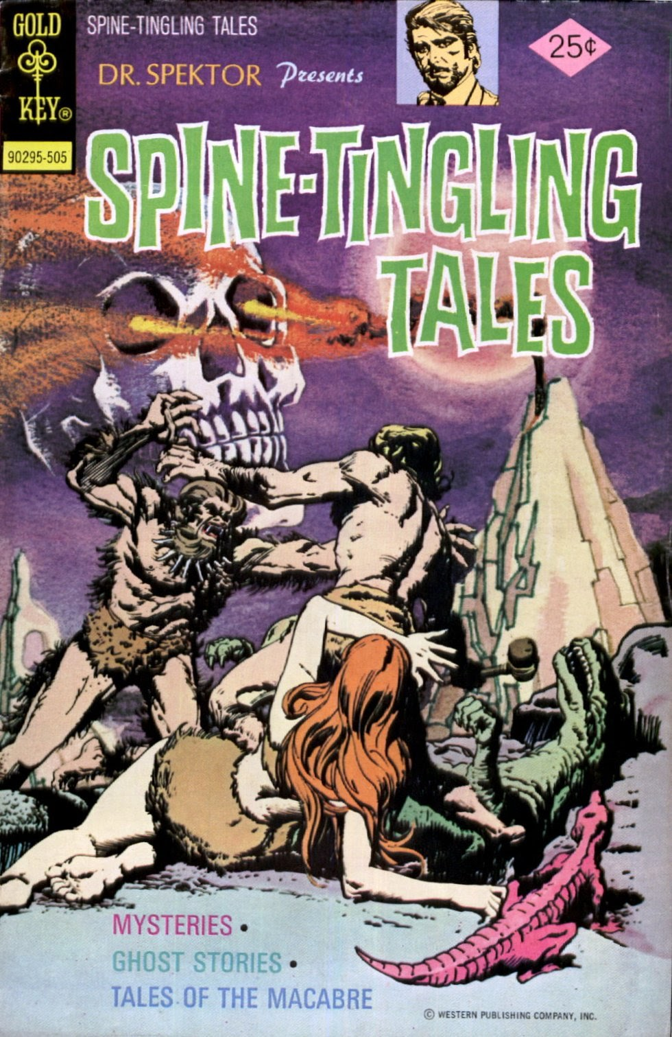 Read online Dr. Spektor Presents Spine-Tingling Tales comic -  Issue #1 - 1