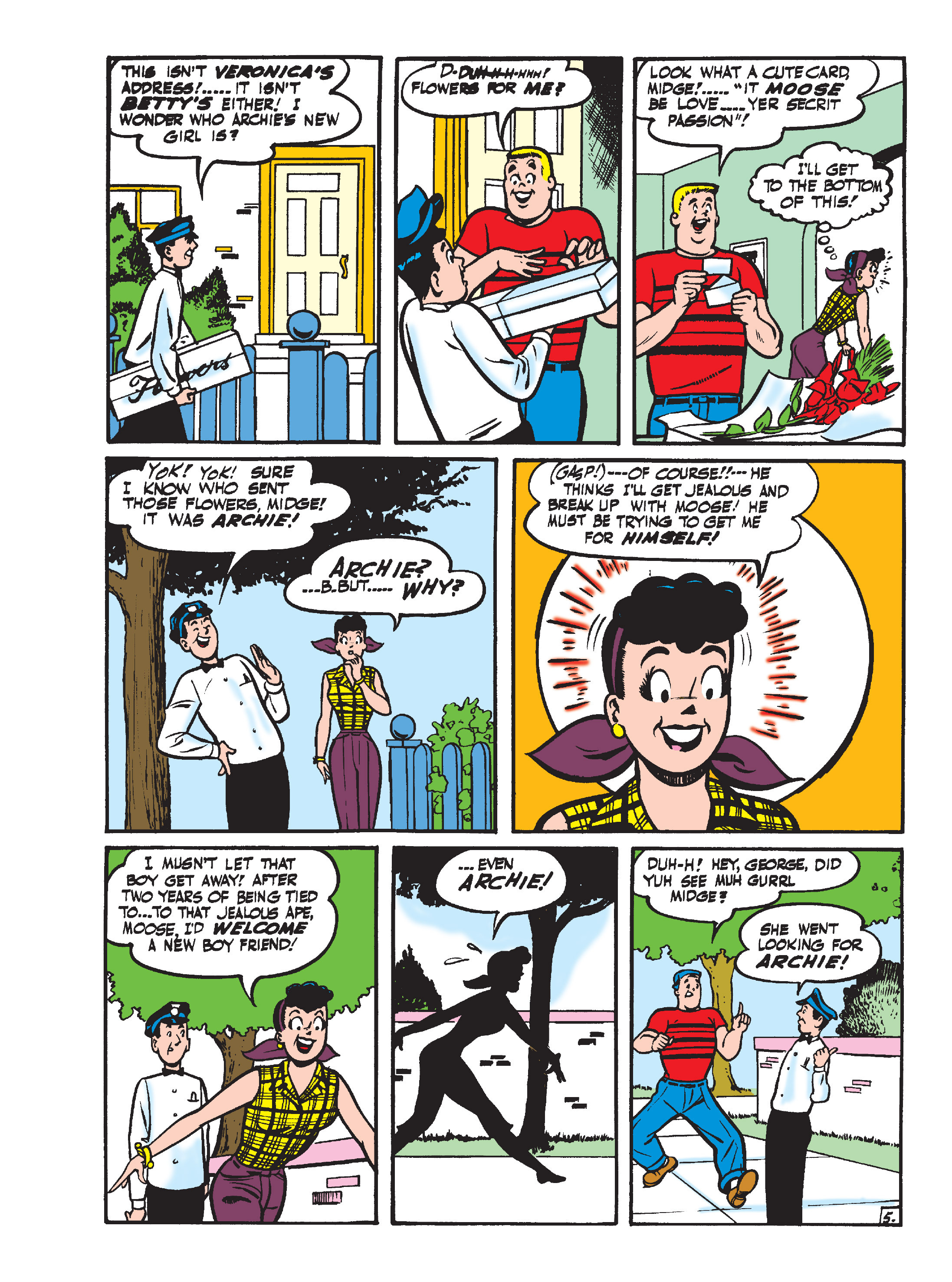 Read online Archie's Funhouse Double Digest comic -  Issue #15 - 128