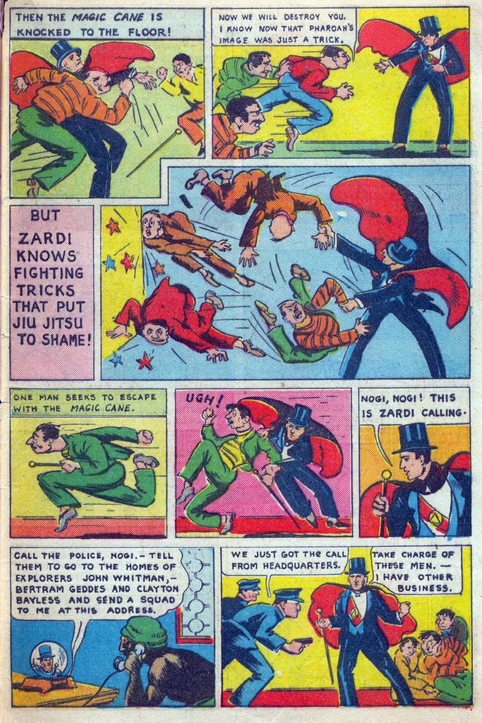 Read online Amazing Man Comics comic -  Issue #15 - 64