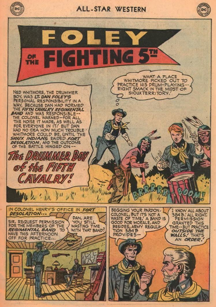 Read online All-Star Western (1951) comic -  Issue #87 - 19