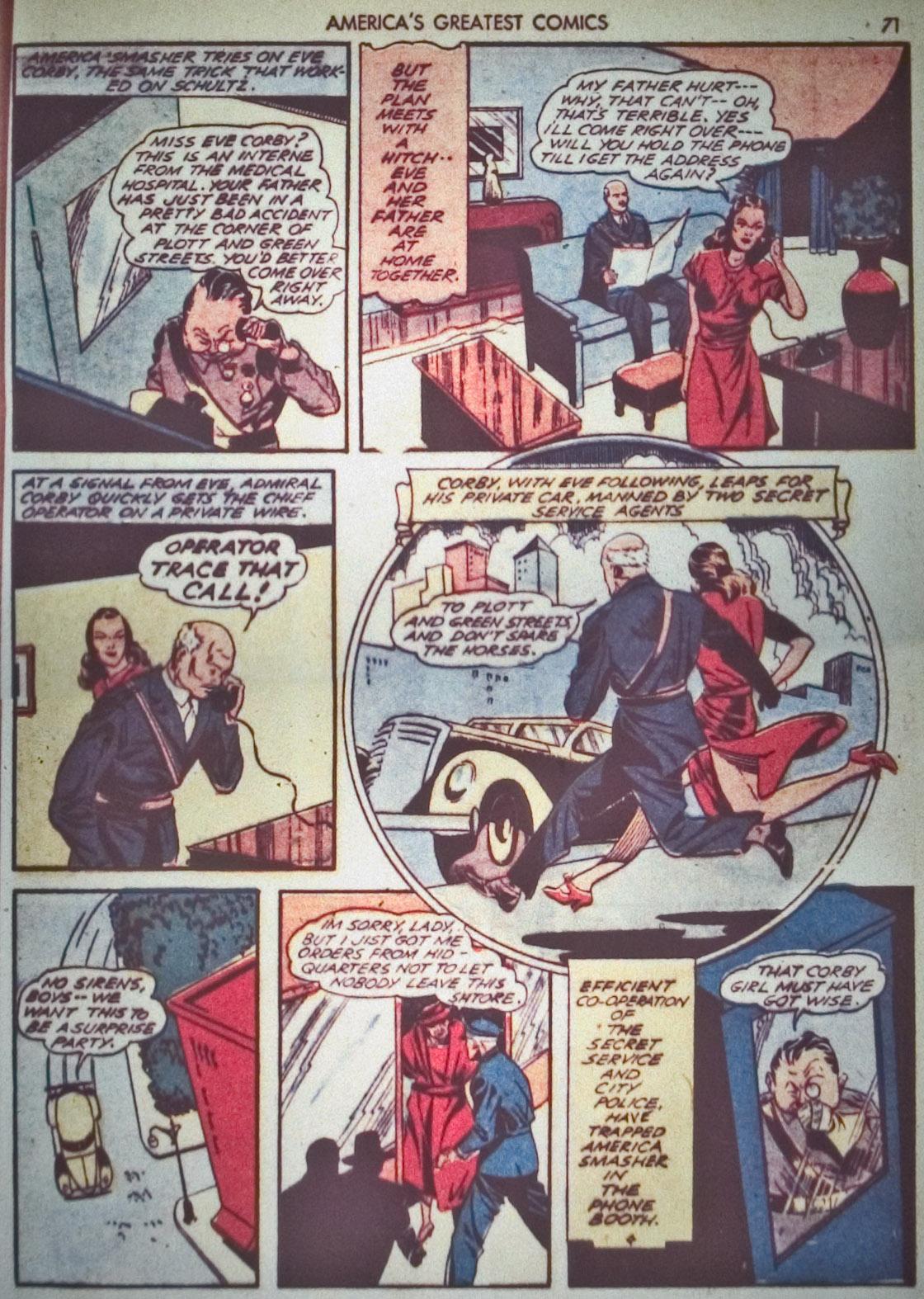 Read online America's Greatest Comics comic -  Issue #1 - 74