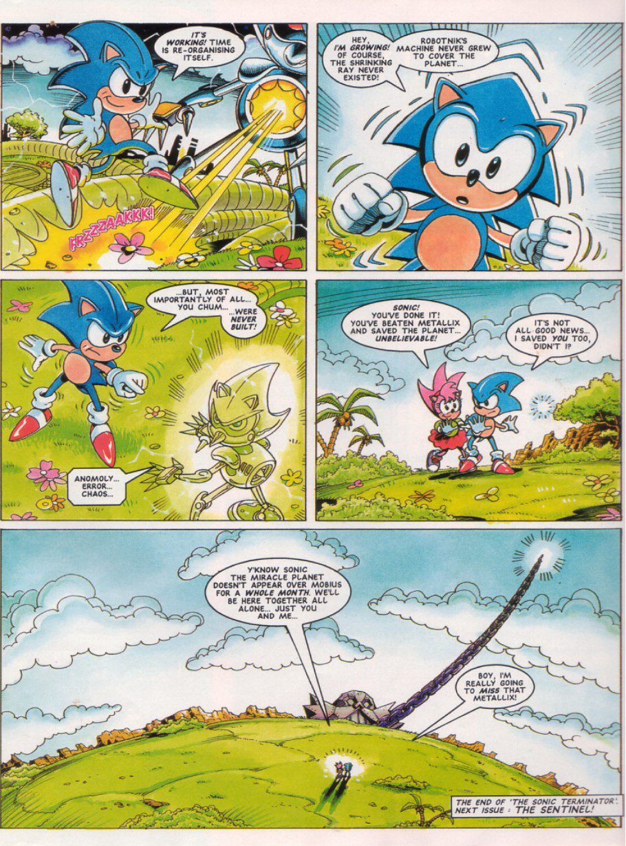 Read online Sonic the Comic comic -  Issue #28 - 9