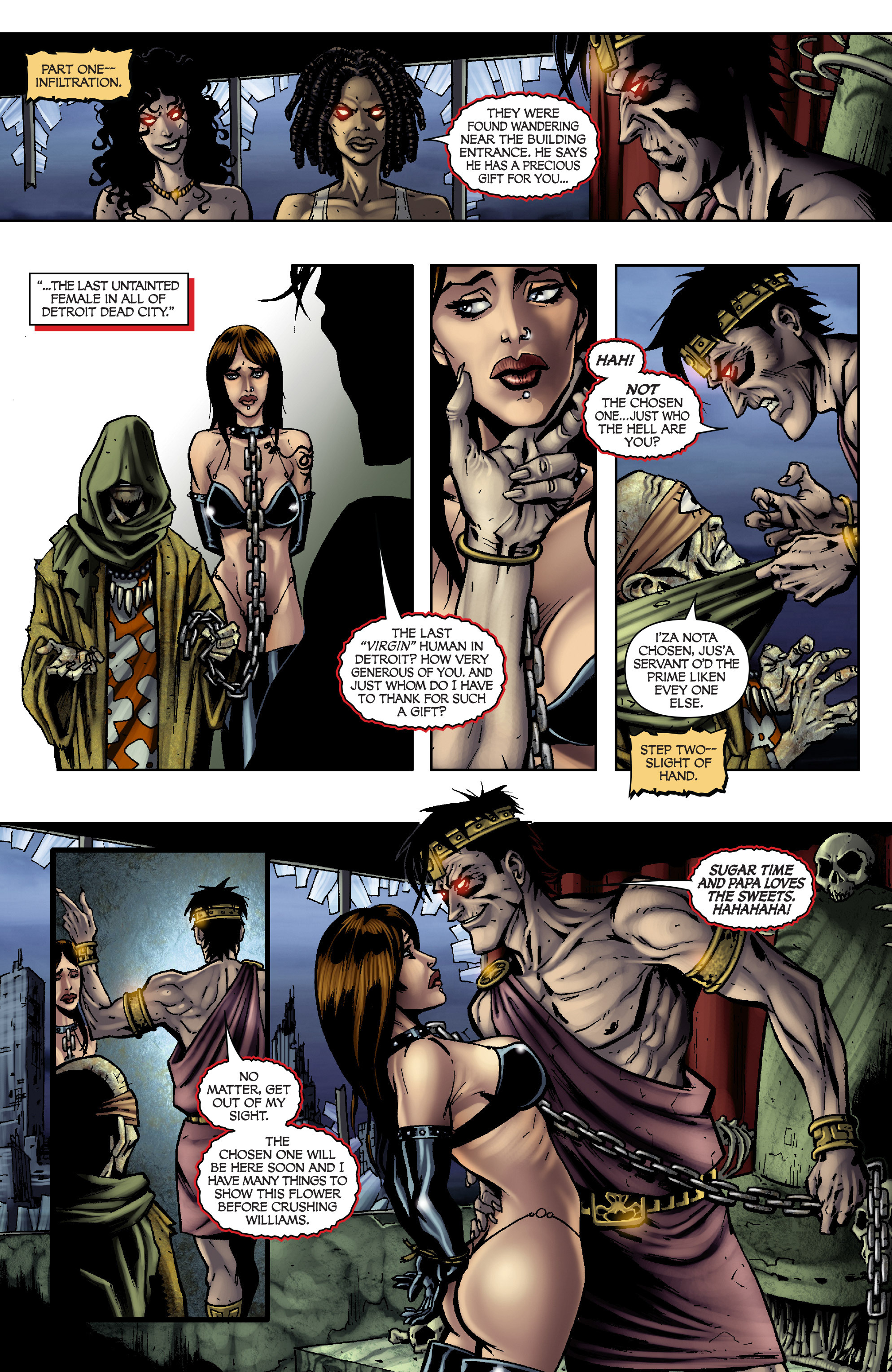 Read online Army of Darkness: From the Ashes comic -  Issue #Army of Darkness: From the Ashes TPB - 86