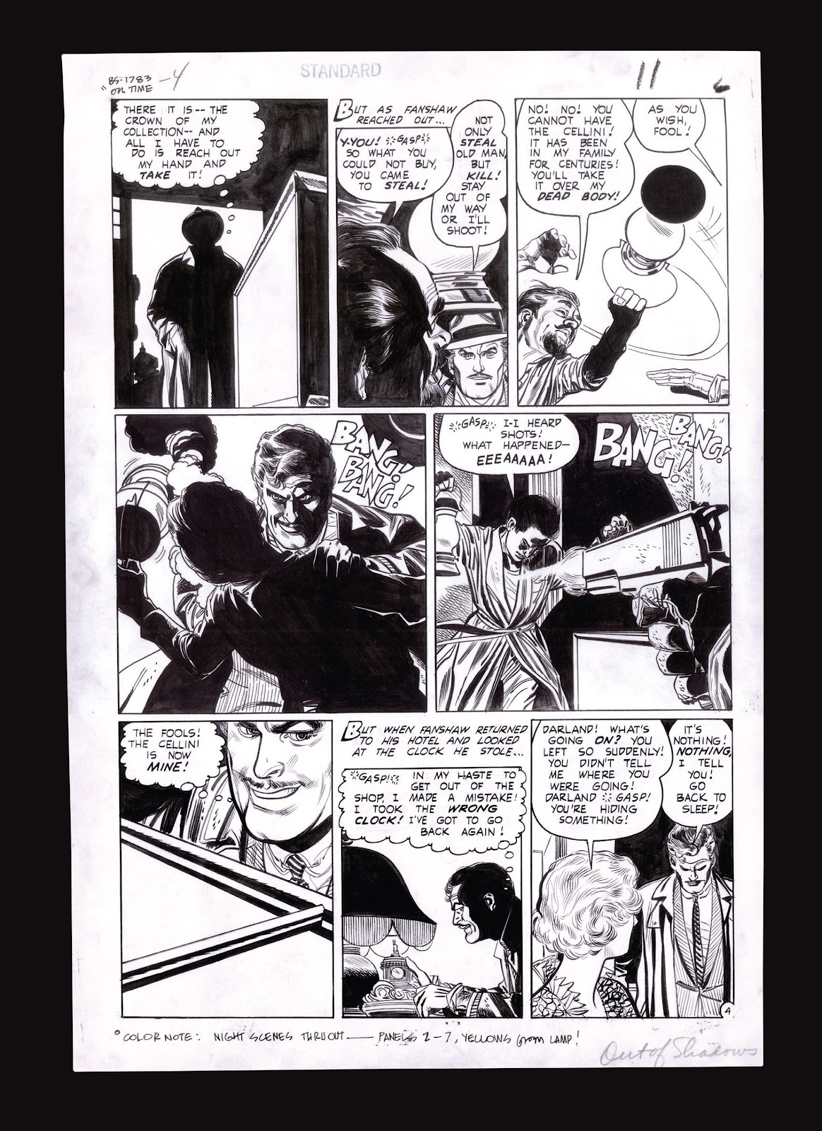 Read online Setting the Standard: Comics by Alex Toth 1952-1954 comic -  Issue # TPB (Part 4) - 132