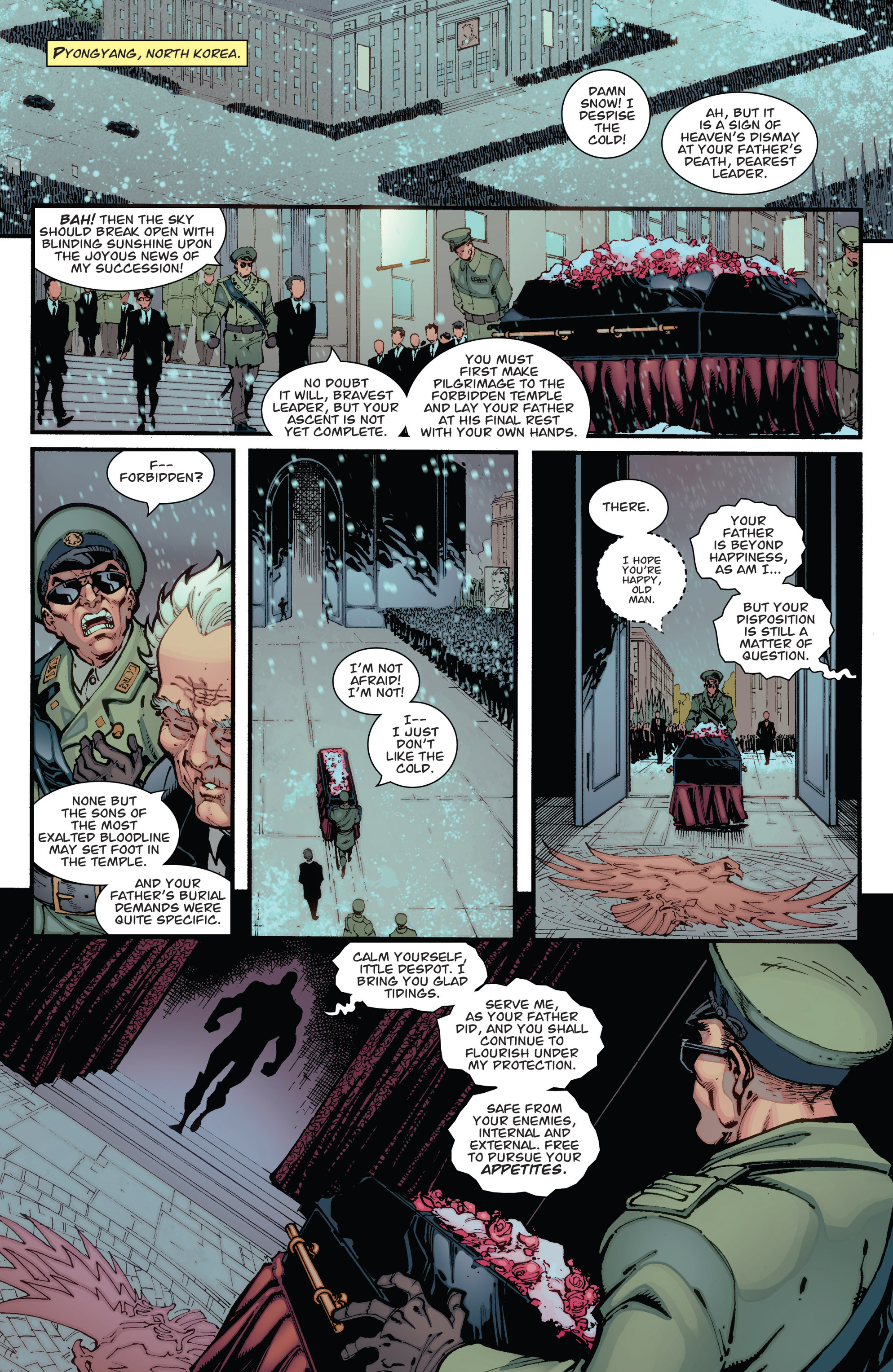 Read online Guarding the Globe (2012) comic -  Issue #1 - 22