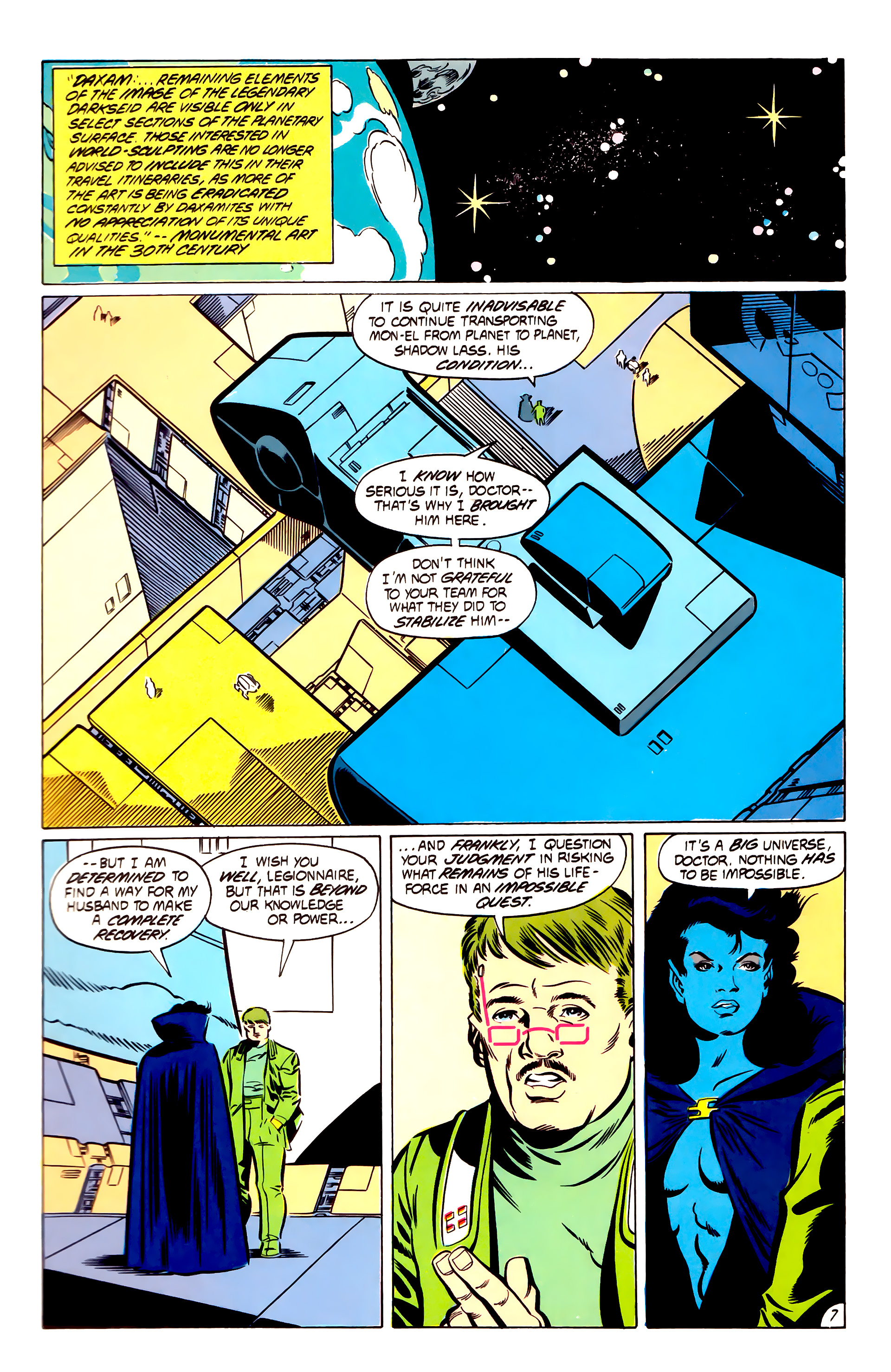 Legion of Super-Heroes (1984) 53 Page 7