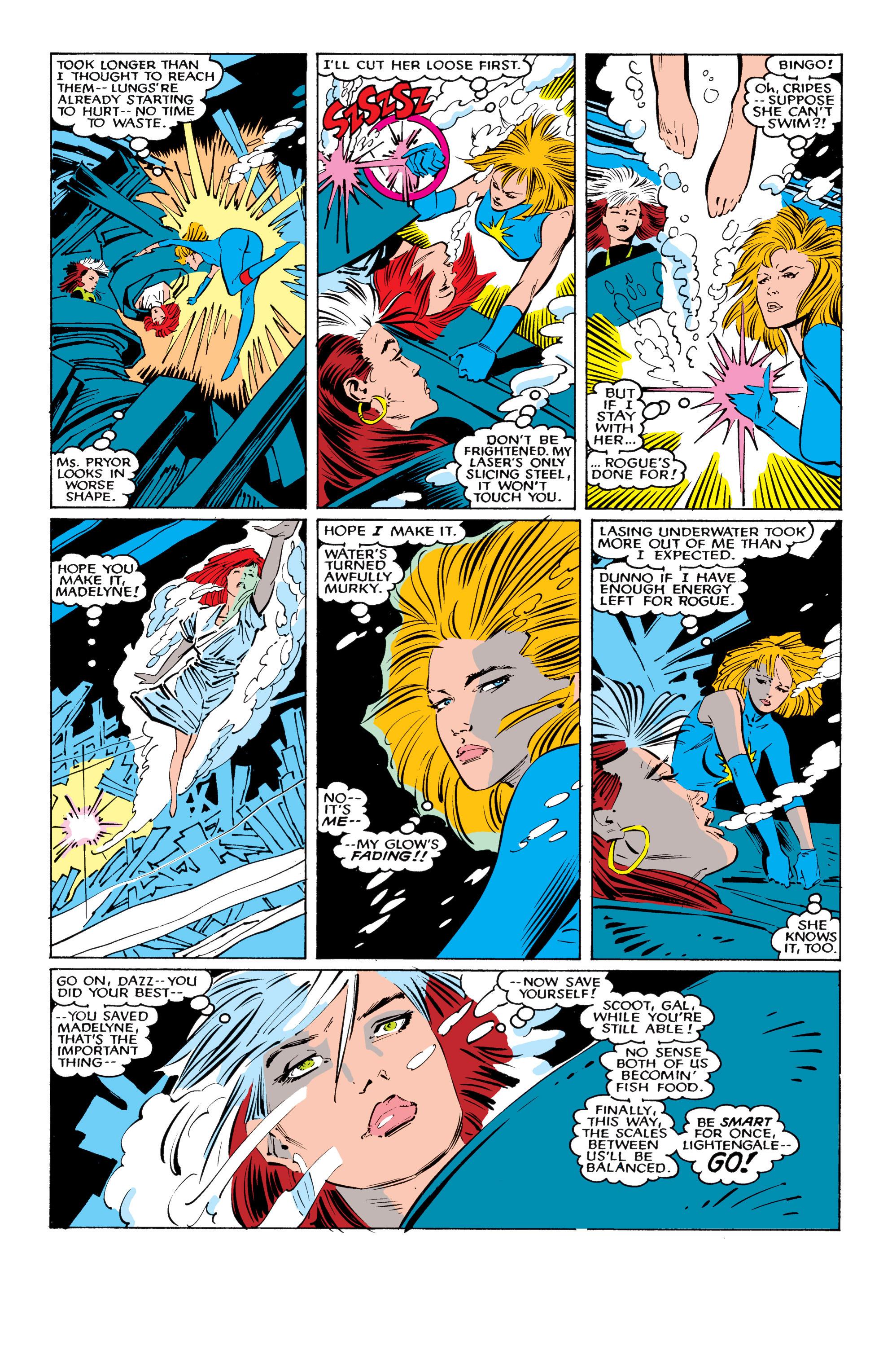 Read online Uncanny X-Men (1963) comic -  Issue #221 - 21