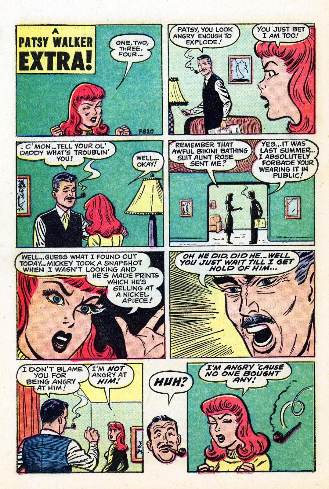 Read online Patsy Walker comic -  Issue #58 - 18