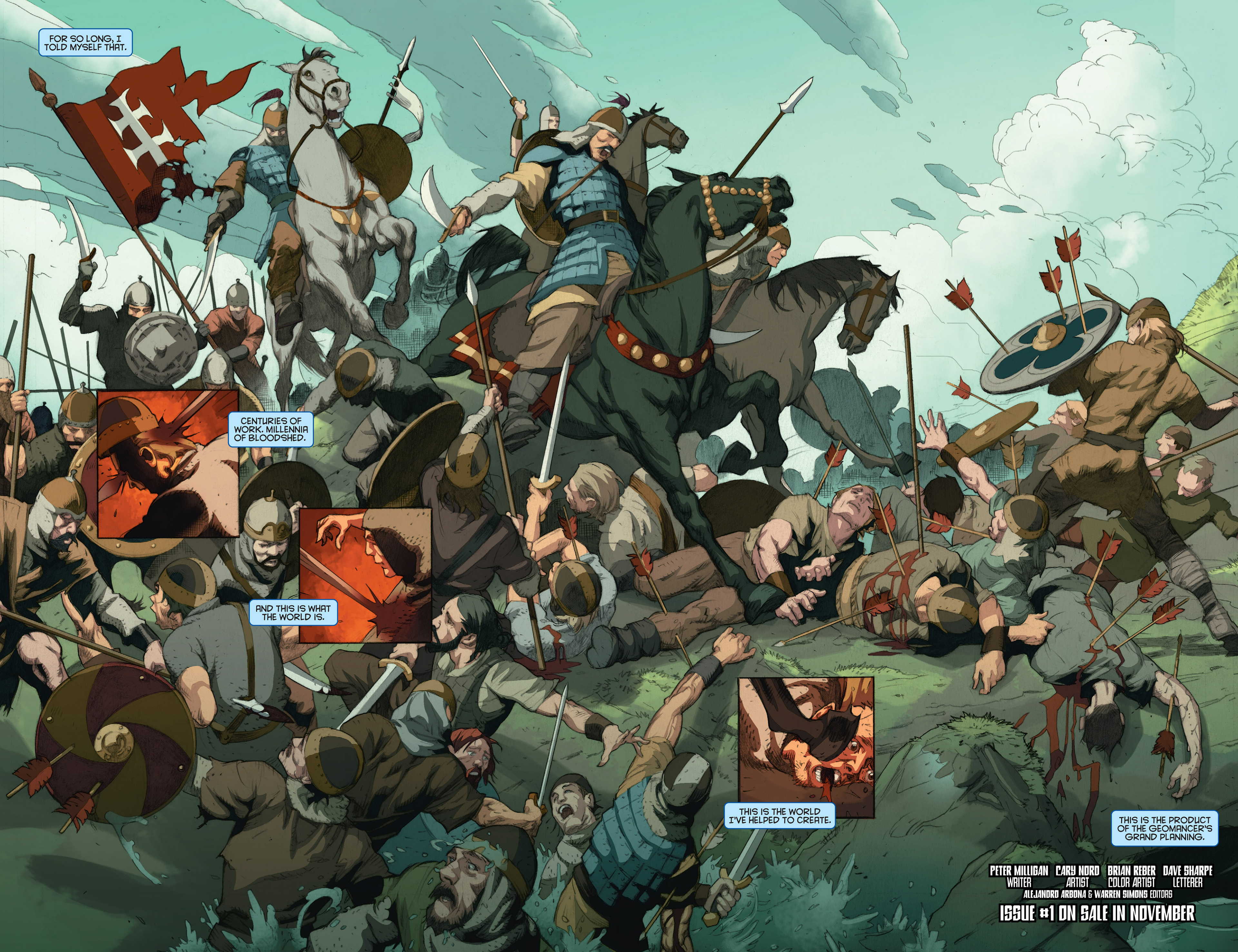 Read online Archer and Armstrong comic -  Issue #24 - 27