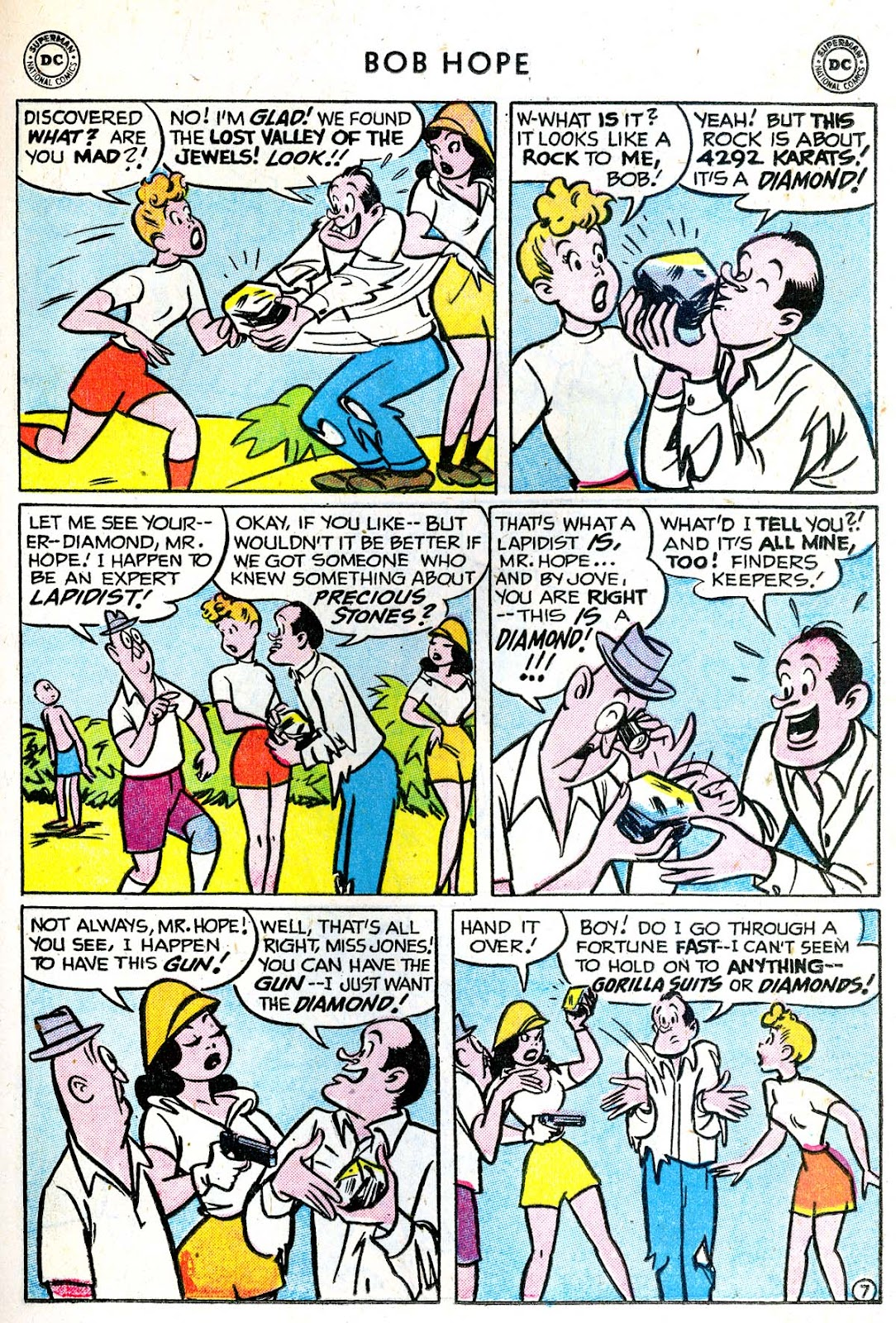 The Adventures of Bob Hope issue 33 - Page 21