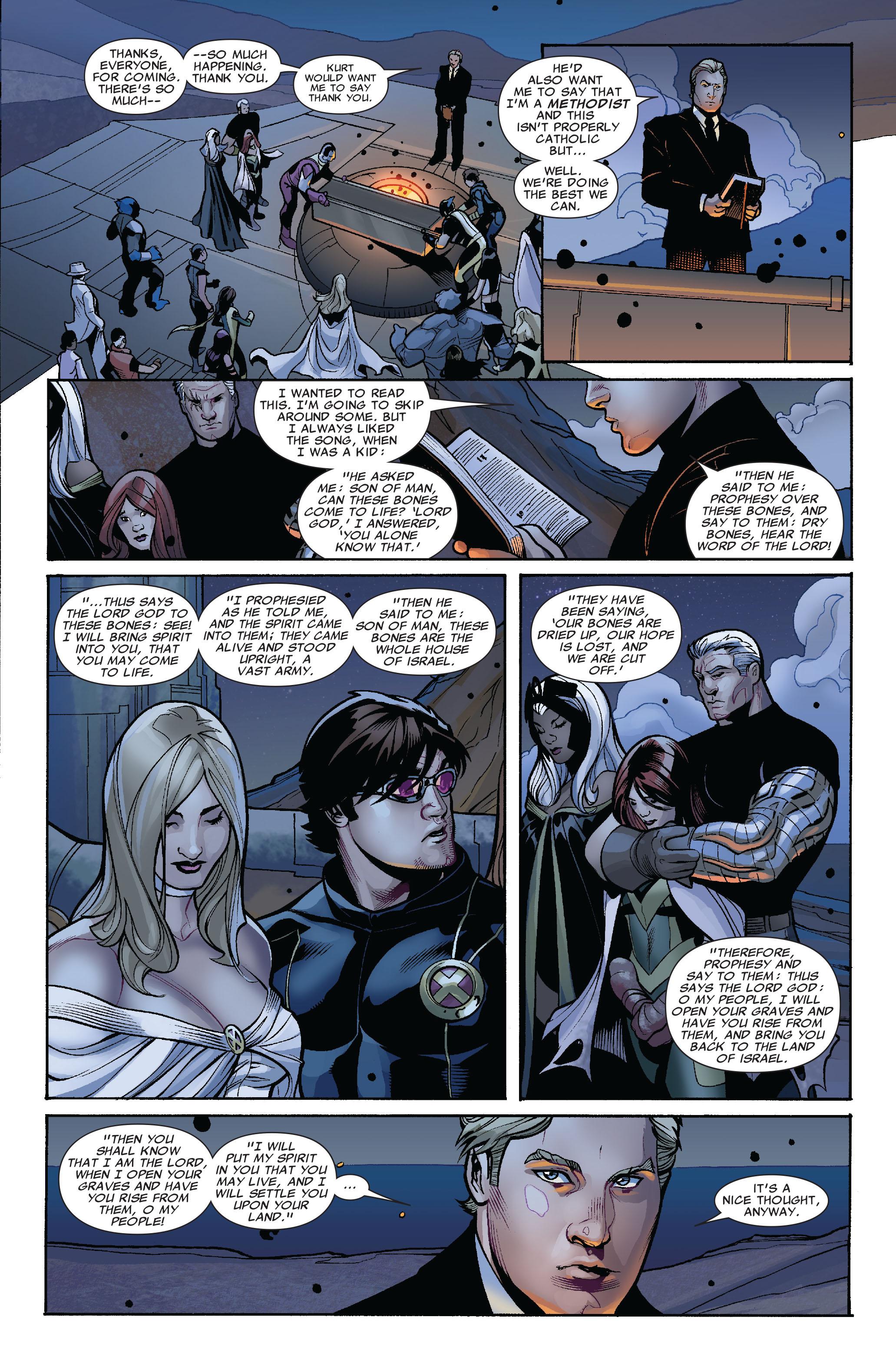 Read online Uncanny X-Men (1963) comic -  Issue #524 - 20