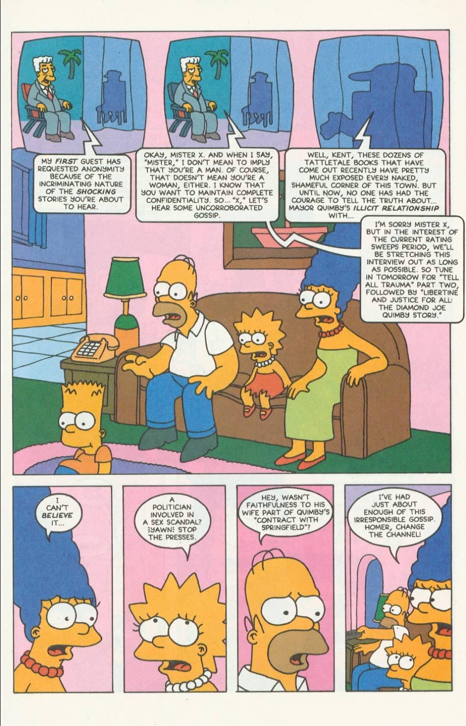 Read online Simpsons Comics comic -  Issue #9 - 14