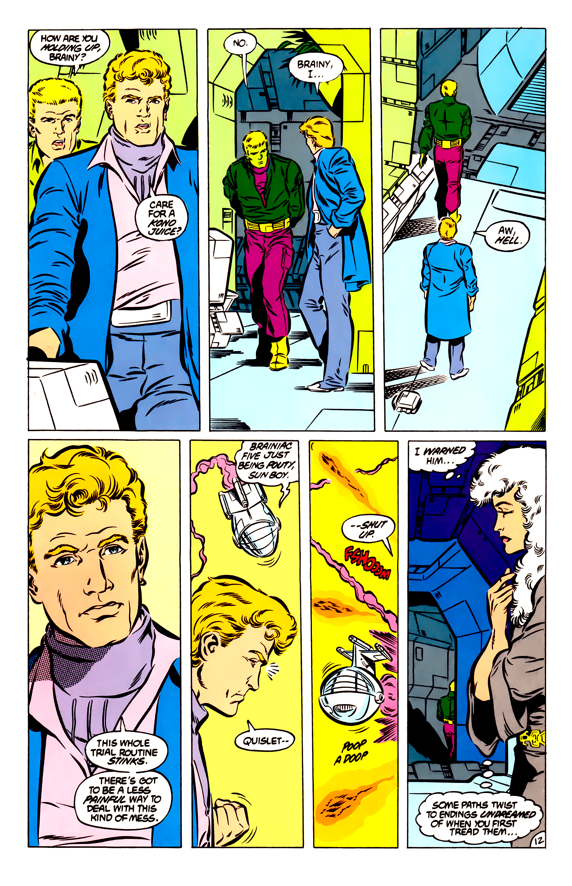 Legion of Super-Heroes (1984) 51 Page 12