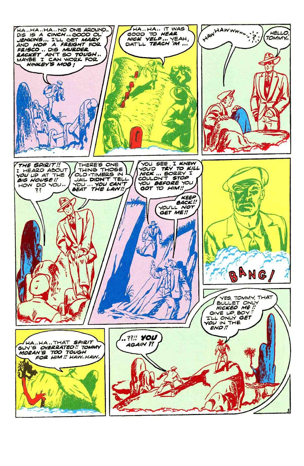 Read online Will Eisner's The Spirit Archives comic -  Issue # TPB 3 (Part 1) - 46