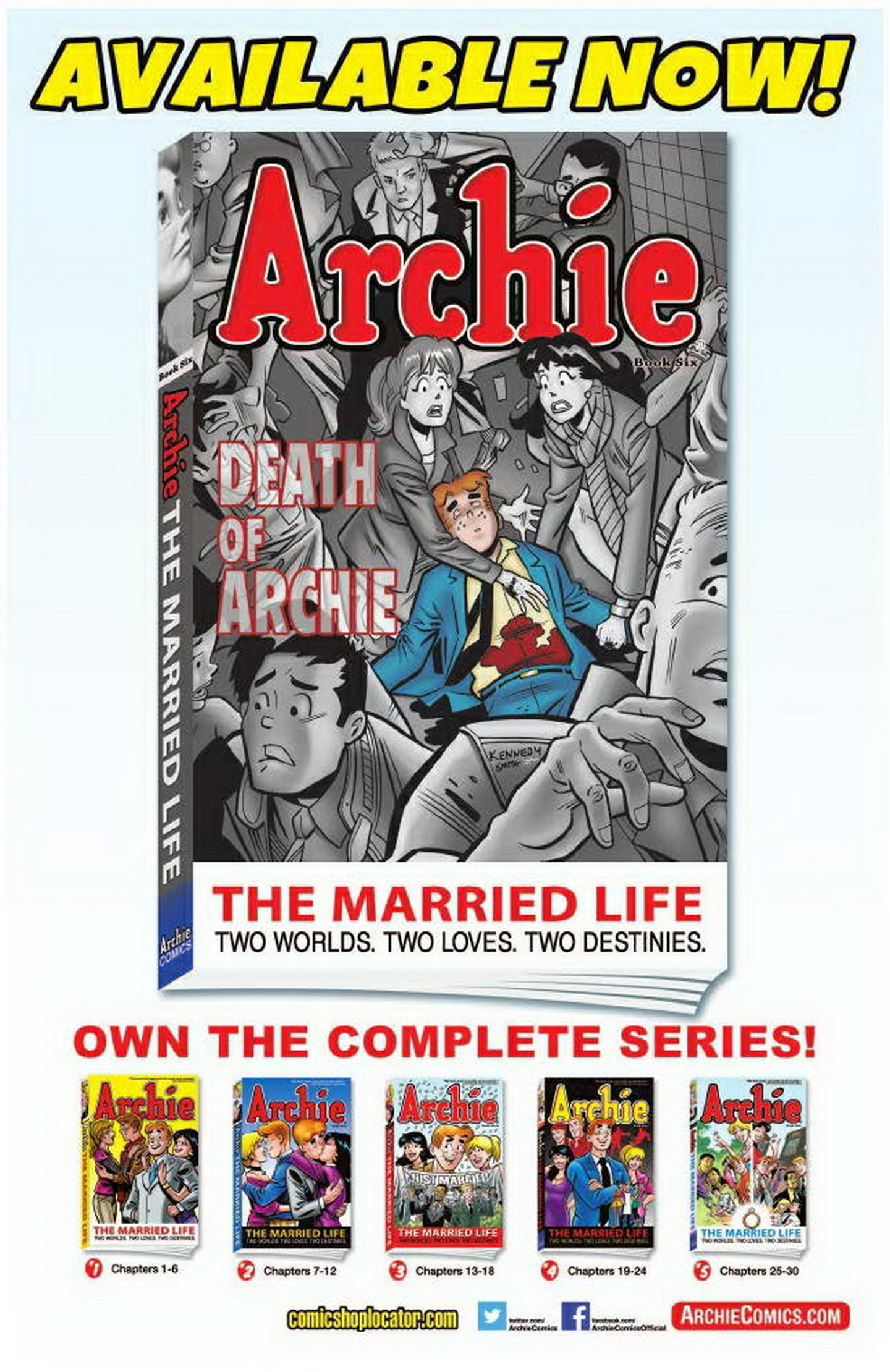 Read online Archie: A Rock 'n' Roll Romance comic -  Issue #Archie: A Rock 'n' Roll Romance Full - 106