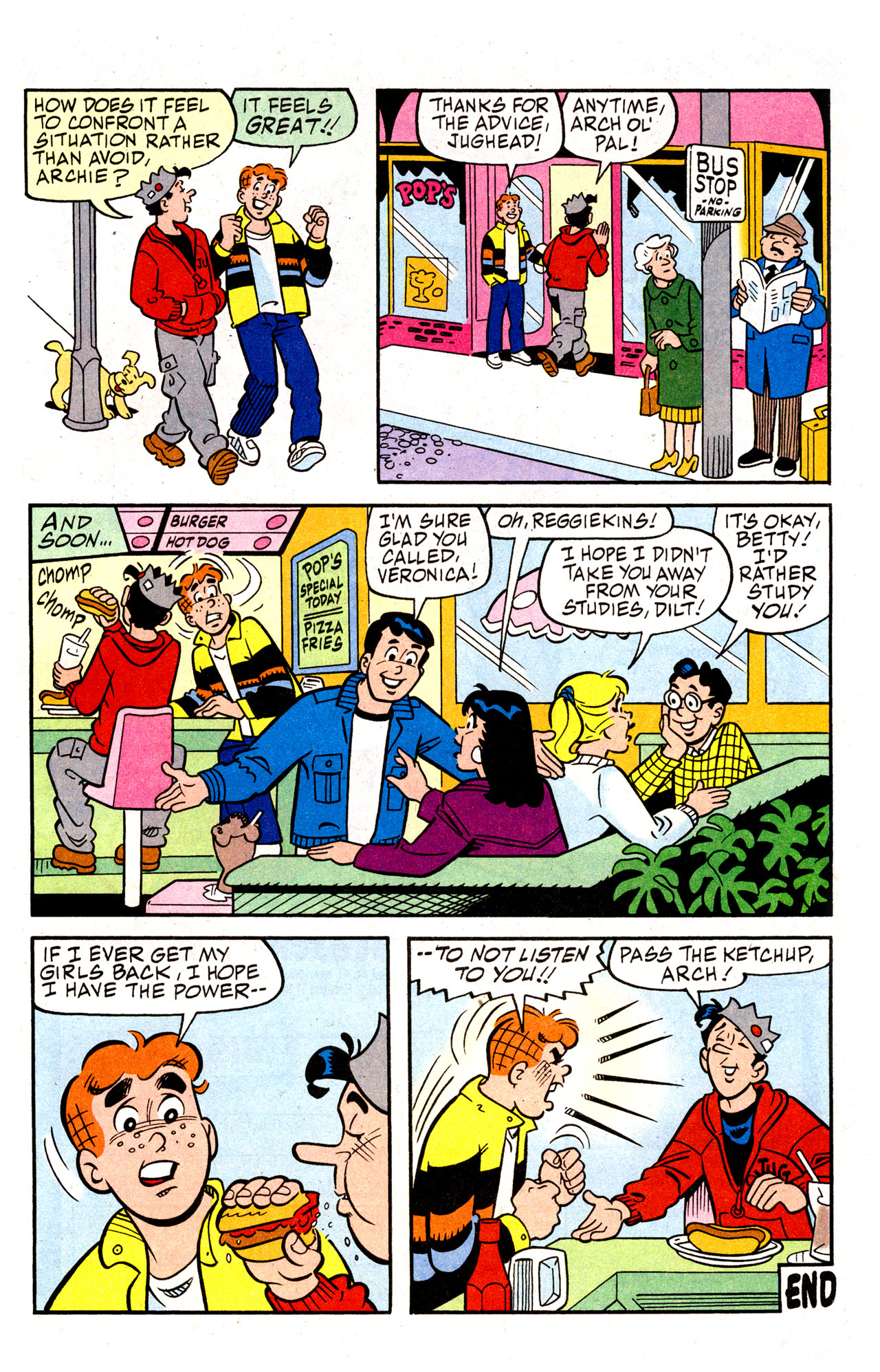 Read online Archie (1960) comic -  Issue #574 - 31