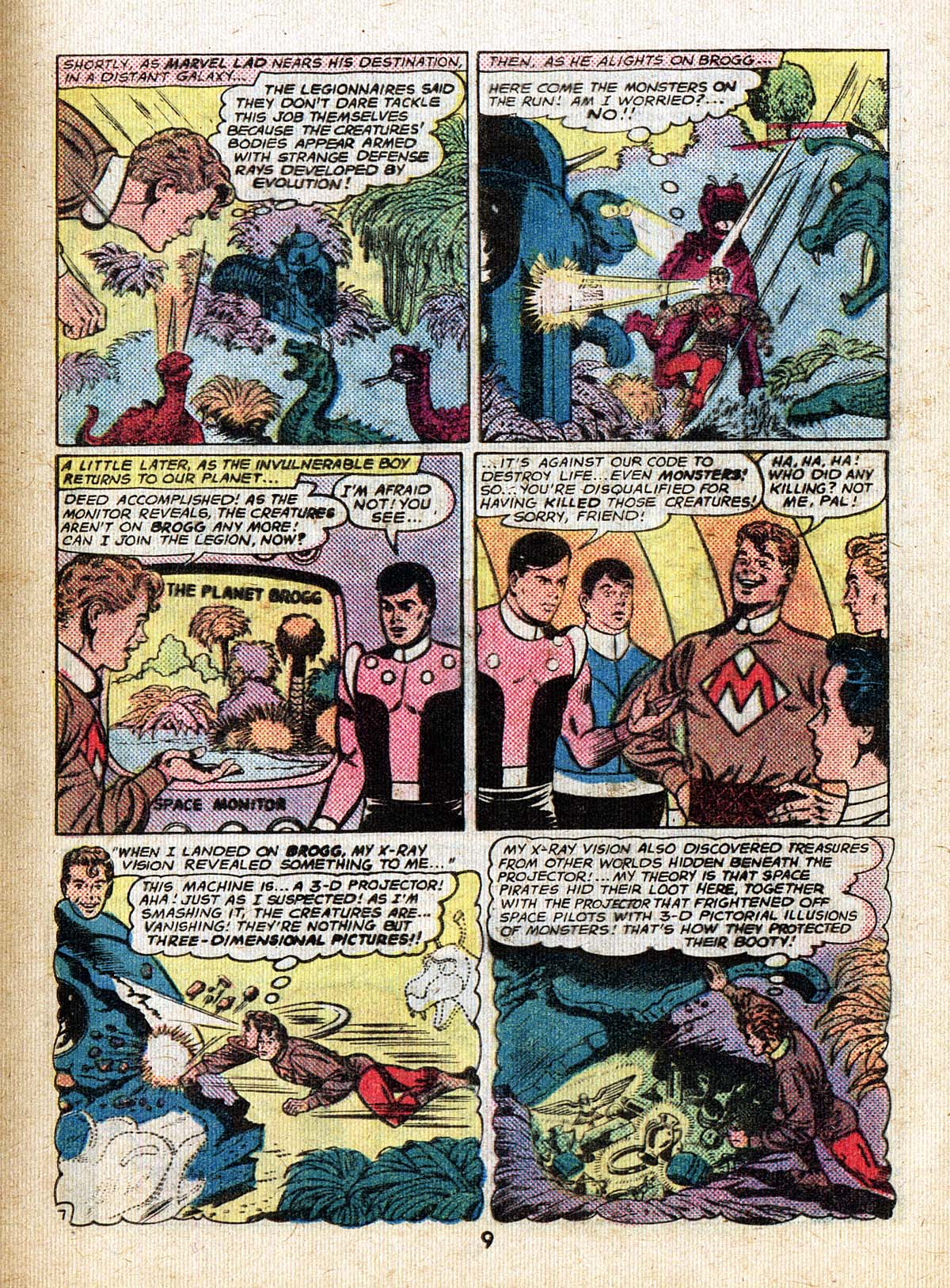 Read online Adventure Comics (1938) comic -  Issue #500 - 9