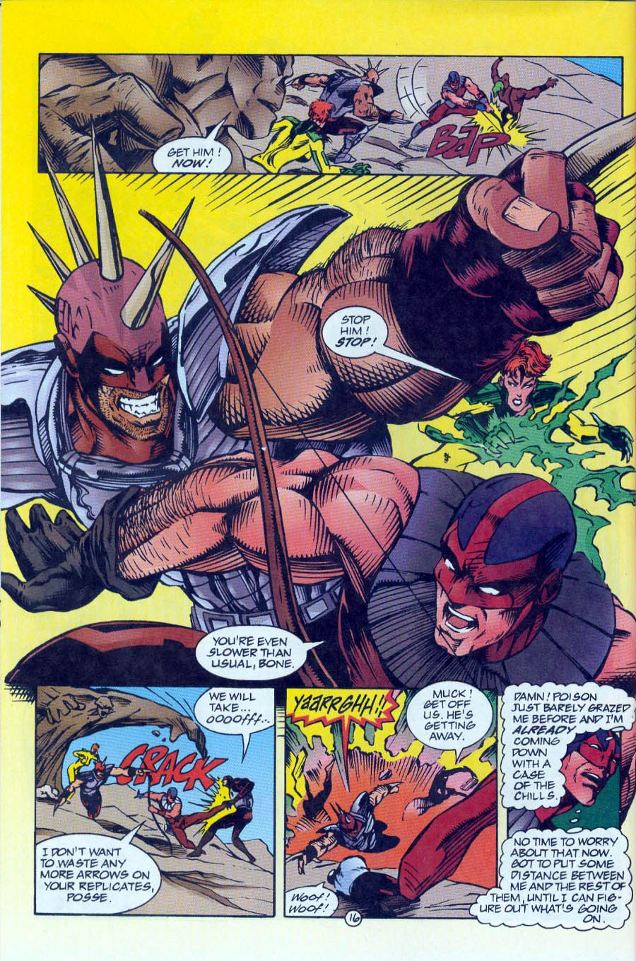 Read online Ex-Mutants comic -  Issue #16 - 16