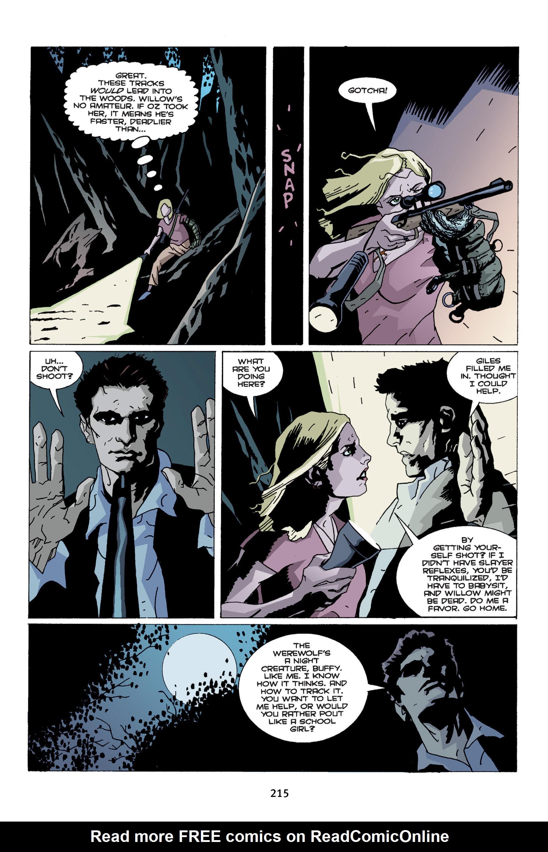 Read online Buffy the Vampire Slayer: Omnibus comic -  Issue # TPB 4 - 213