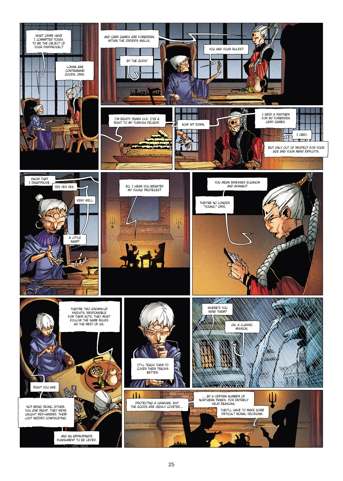 Read online Chronicles of the Dragon Knights comic -  Issue #19 - 25
