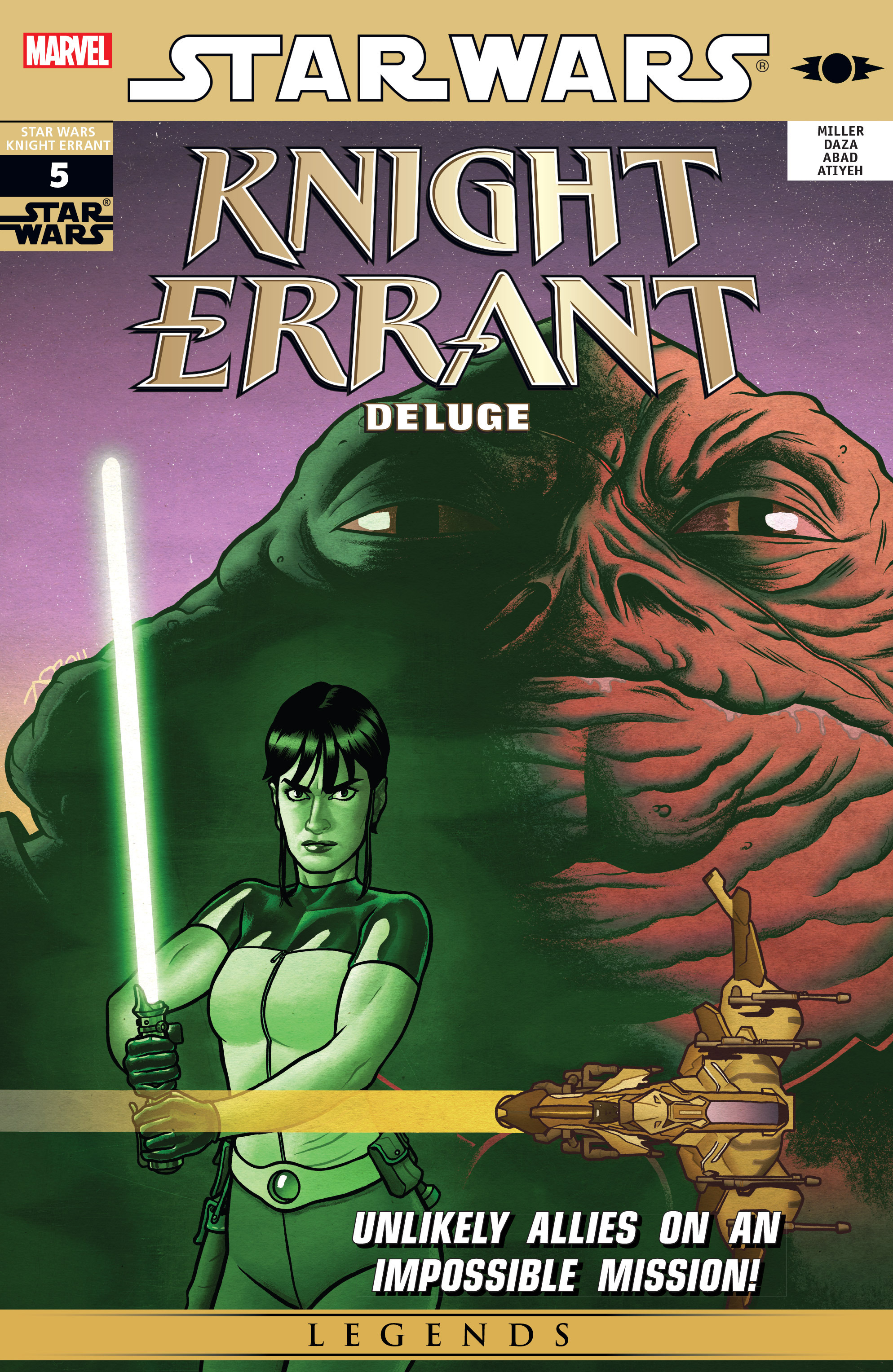 Read online Star Wars: Knight Errant - Deluge comic -  Issue #5 - 1