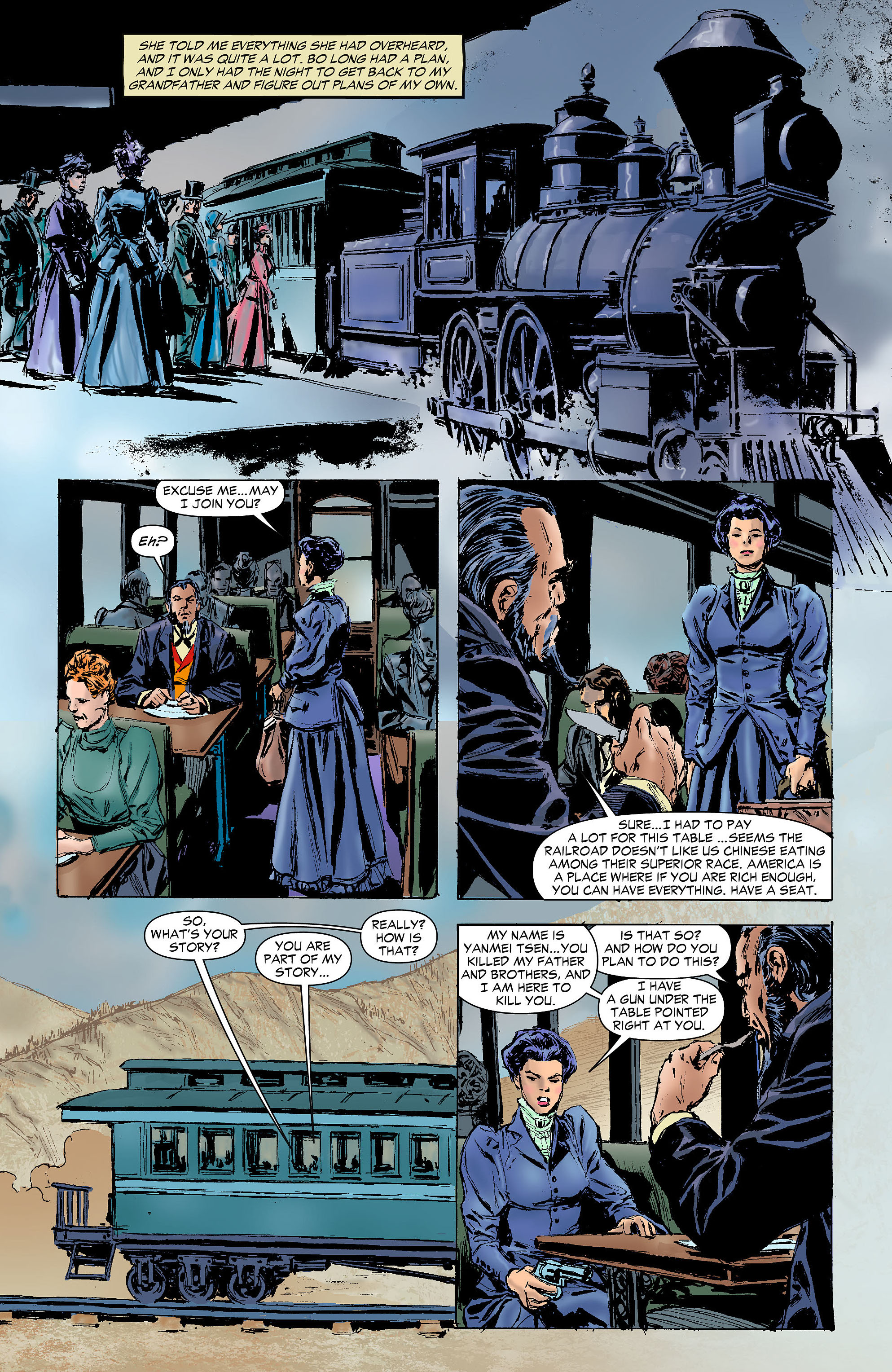 Read online All-Star Western (2011) comic -  Issue #6 - 27