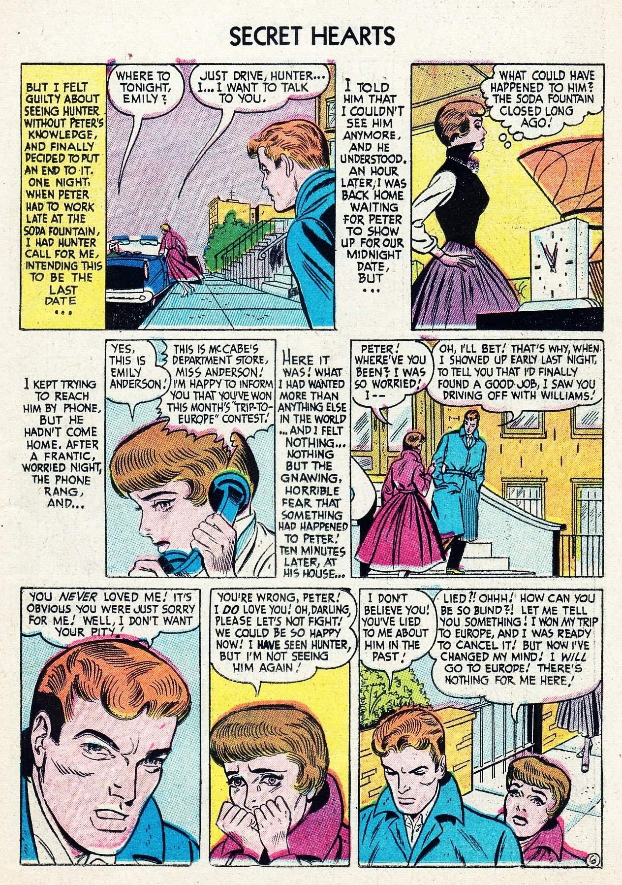 Read online Secret Hearts comic -  Issue #29 - 23