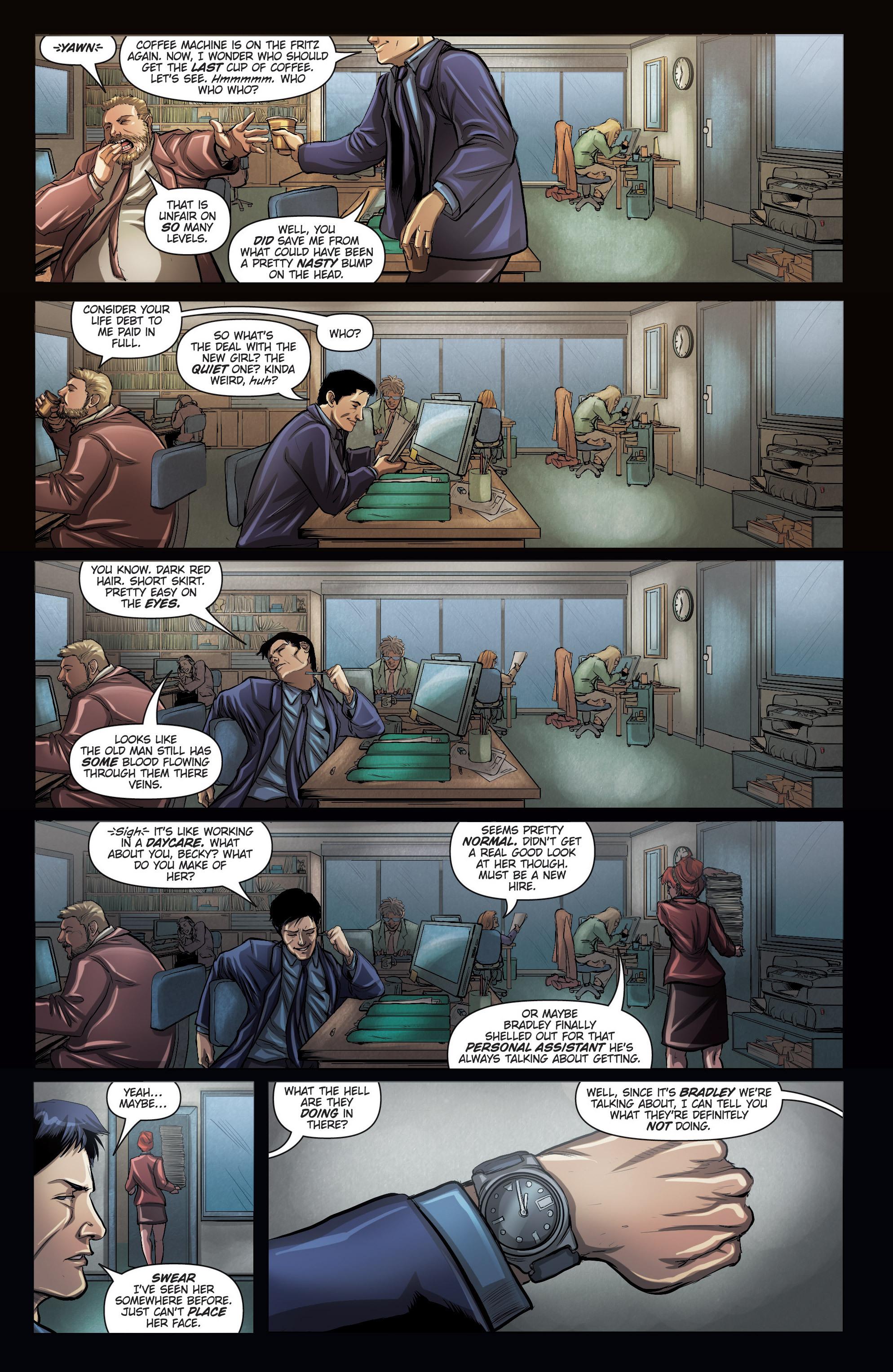 Read online Grimm Fairy Tales presents No Tomorrow comic -  Issue # TPB - 18