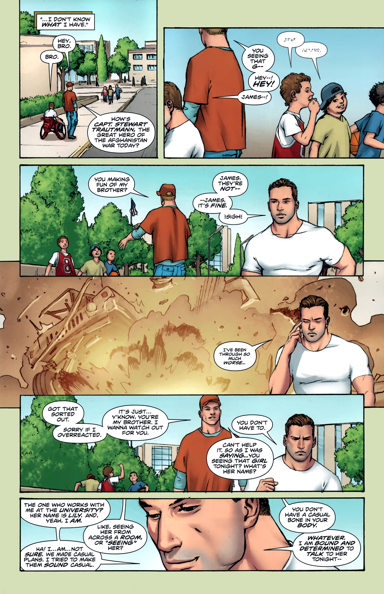 Read online Soldier Zero comic -  Issue #1 - 8