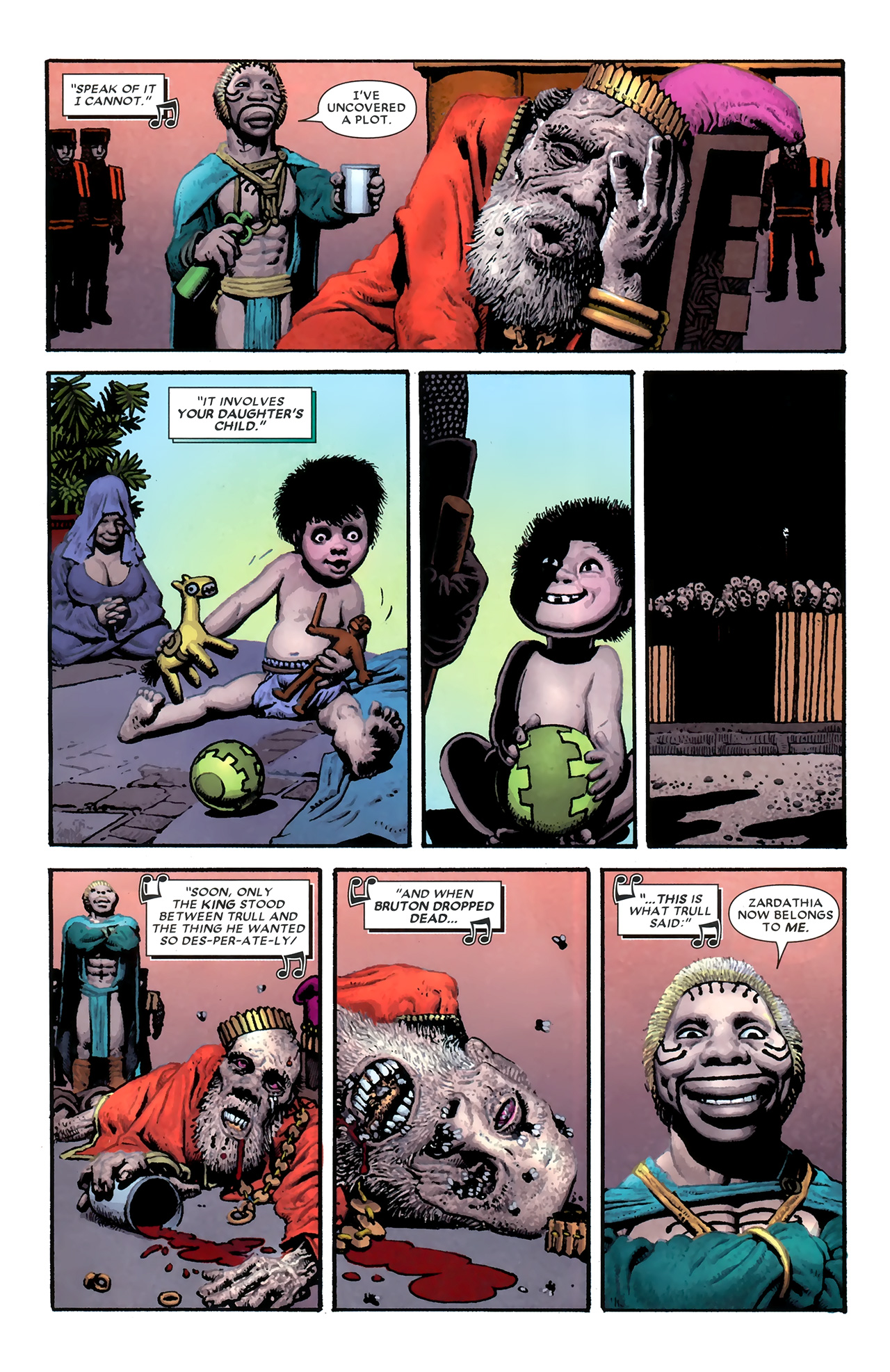 Read online Starr the Slayer comic -  Issue #3 - 10