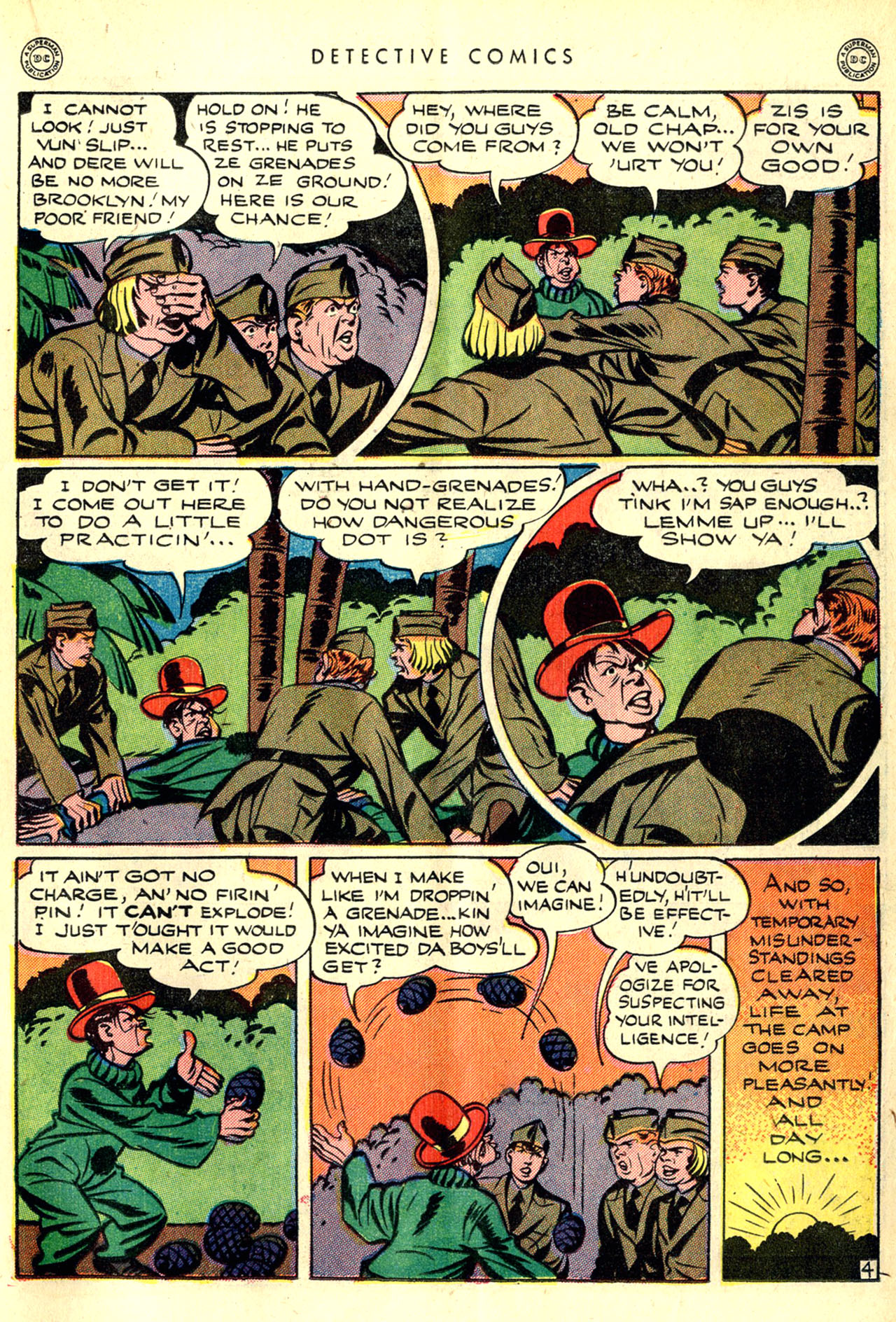 Read online Detective Comics (1937) comic -  Issue #90 - 21