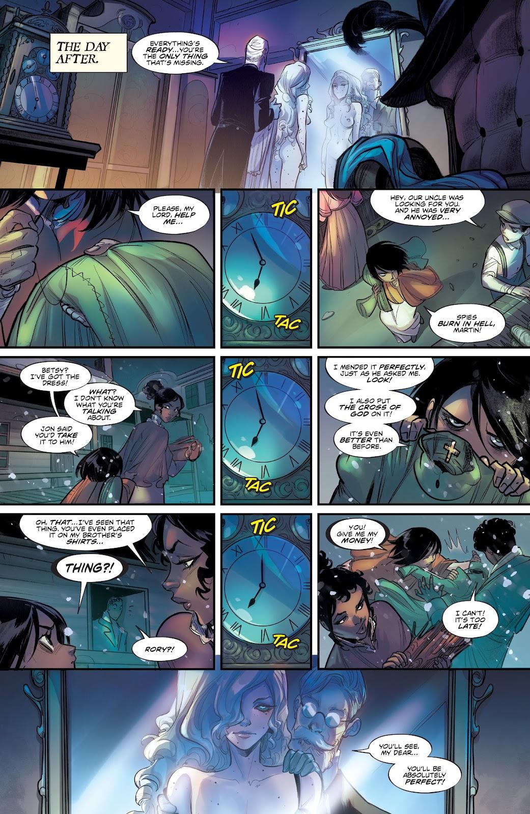 Read online Mirka Andolfo's Mercy comic -  Issue #2 - 13