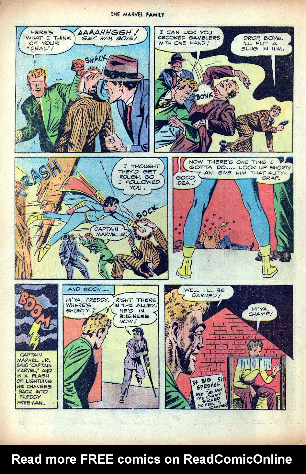 The Marvel Family issue 25 - Page 22