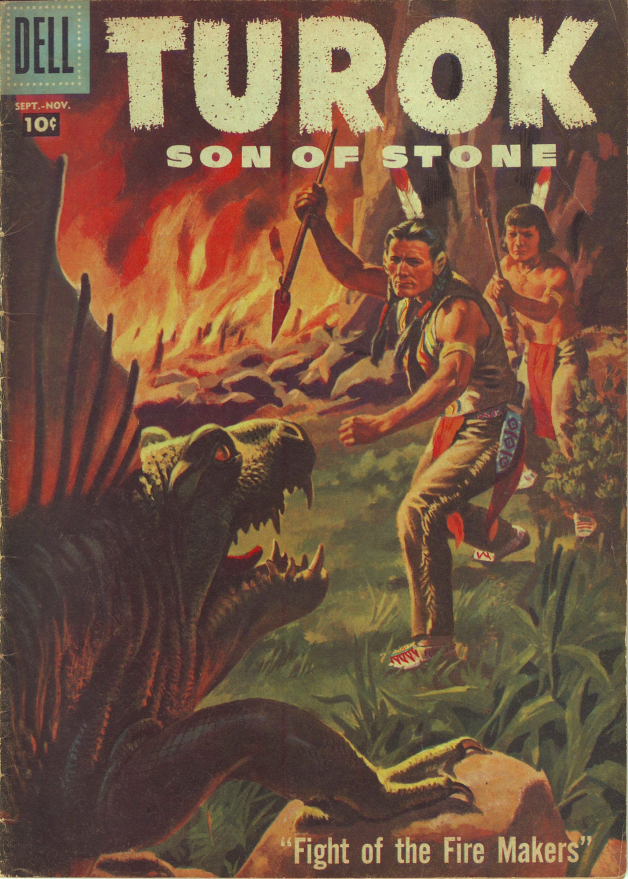 Read online Turok, Son of Stone comic -  Issue #9 - 1