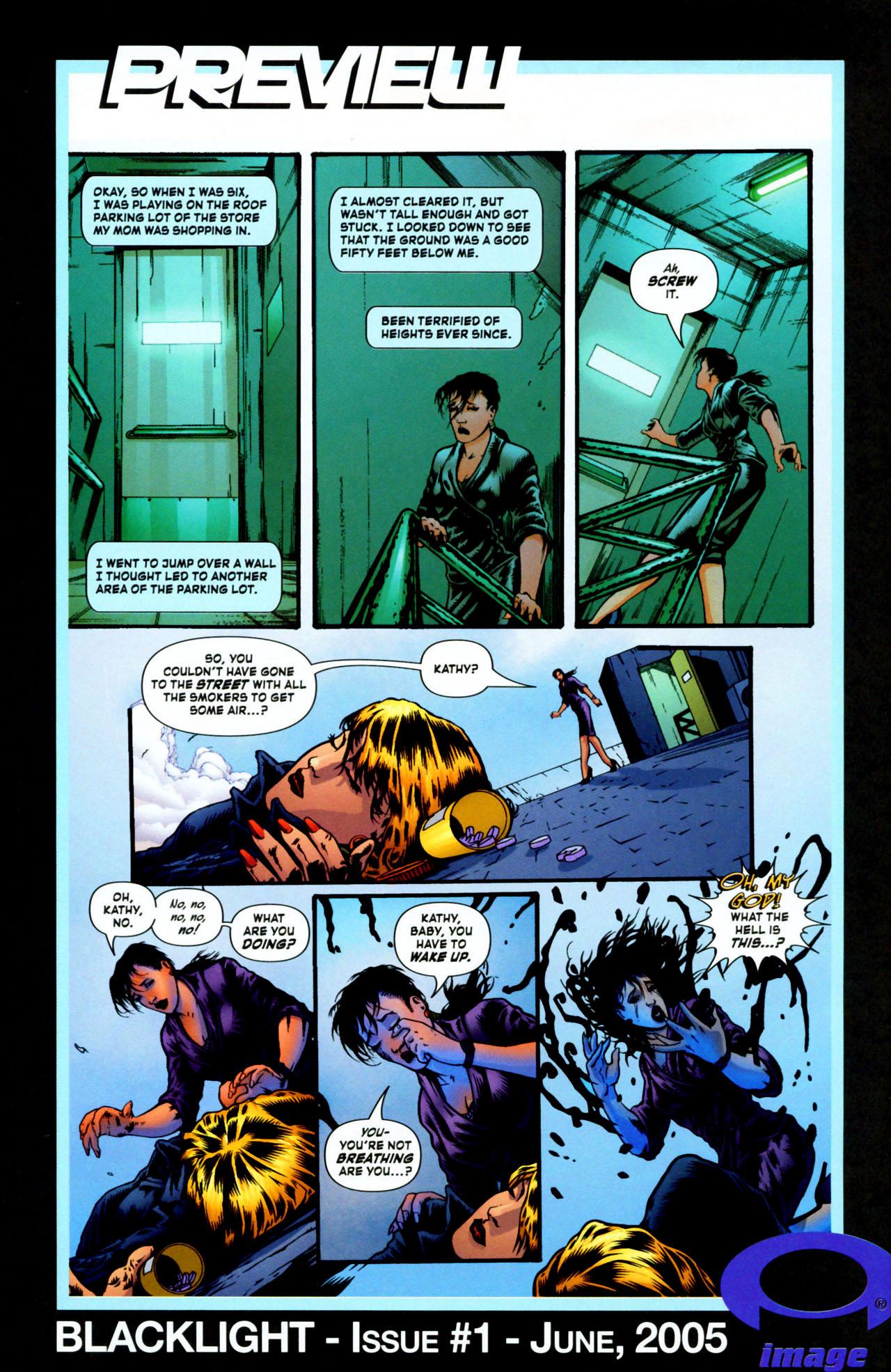 Read online ShadowHawk (2005) comic -  Issue #1 - 29