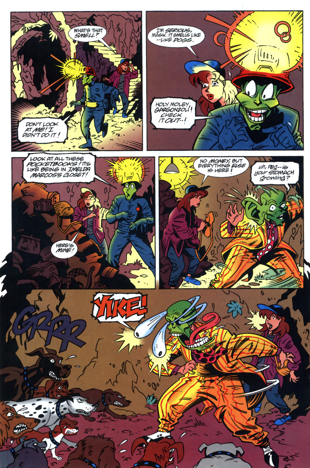Read online Adventures Of The Mask comic -  Issue #3 - 14