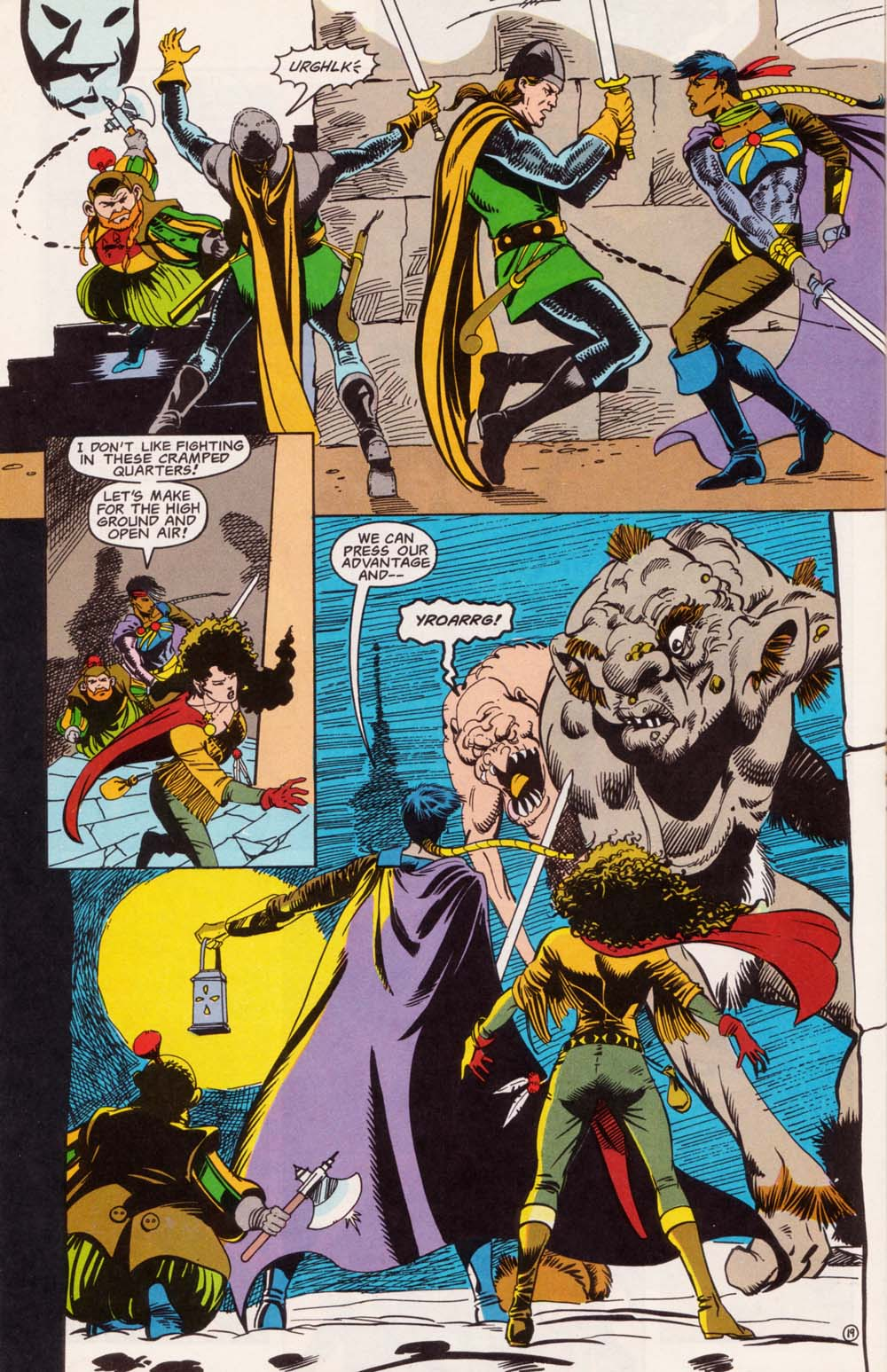 Read online Advanced Dungeons & Dragons comic -  Issue #5 - 20