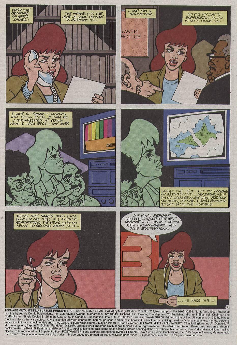 April O'neel Teenage Mutants Porn comic teenage mutant ninja turtles presents: april o'neil