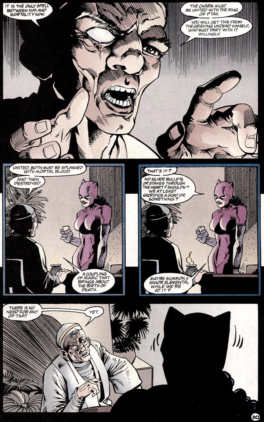 Catwoman (1993) Annual 4 #4 - English 32